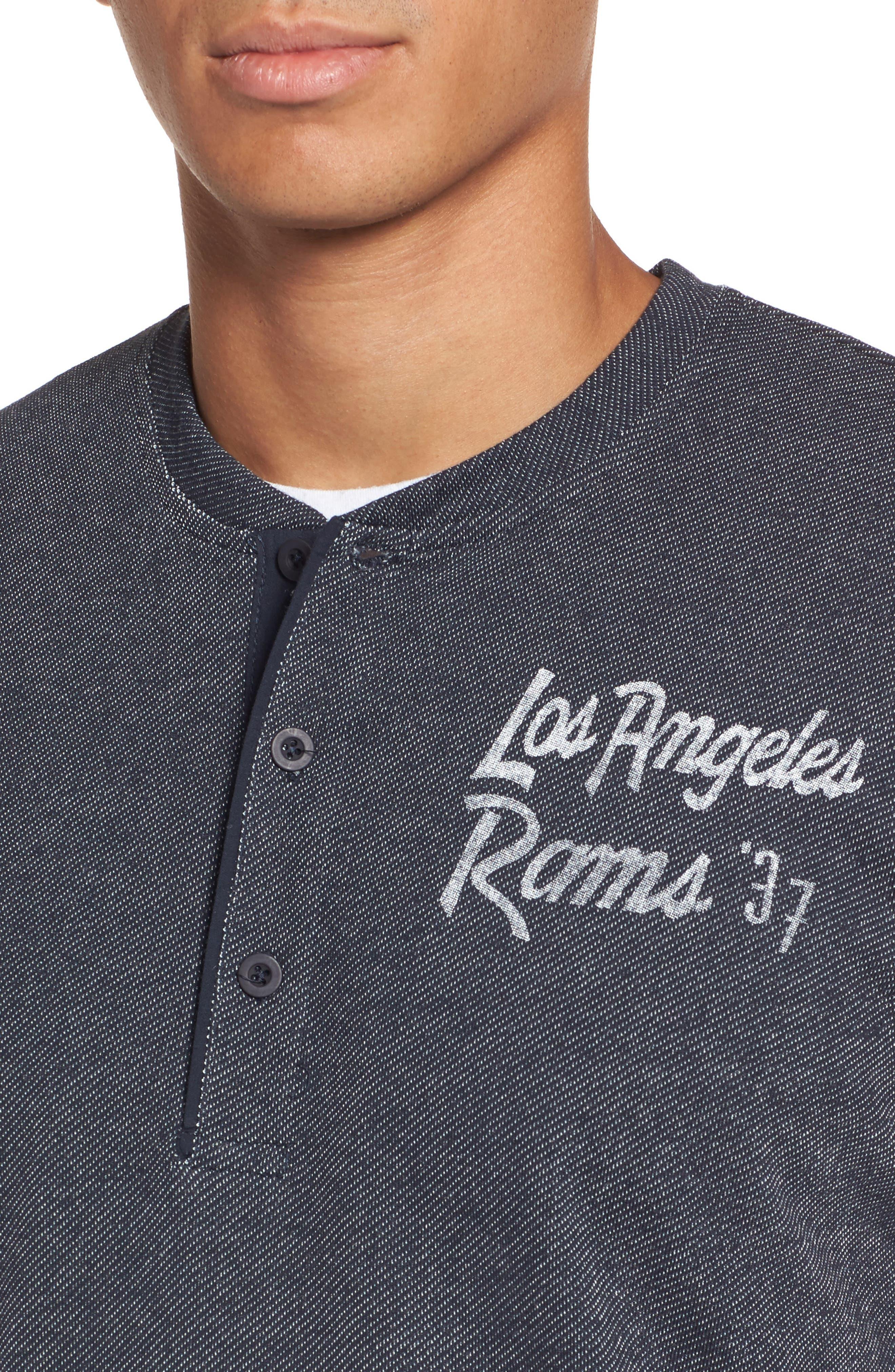 Los Angeles Rams Henley,                             Alternate thumbnail 4, color,                             411