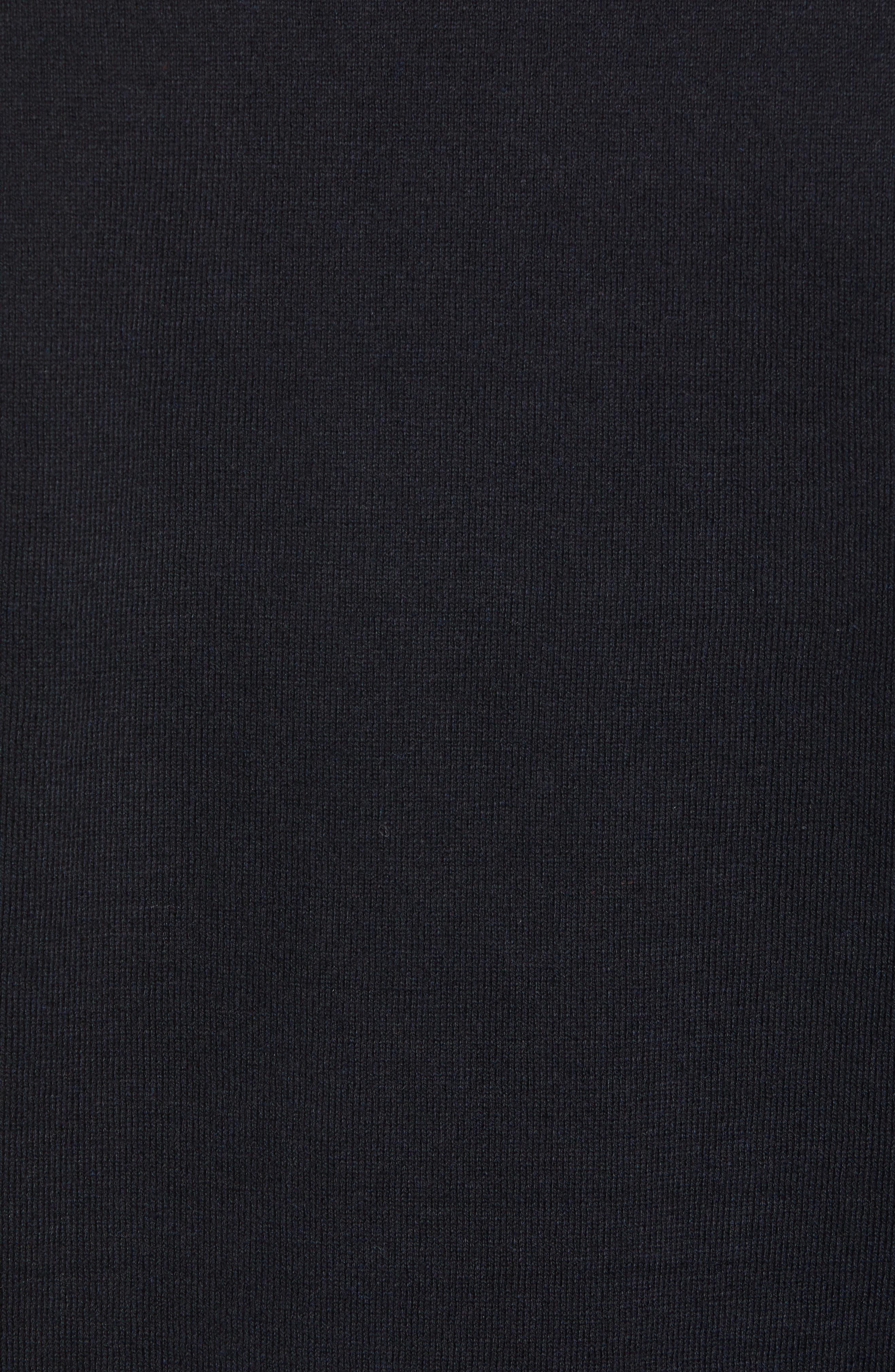 Crewneck Sweatshirt,                             Alternate thumbnail 5, color,                             BLACK