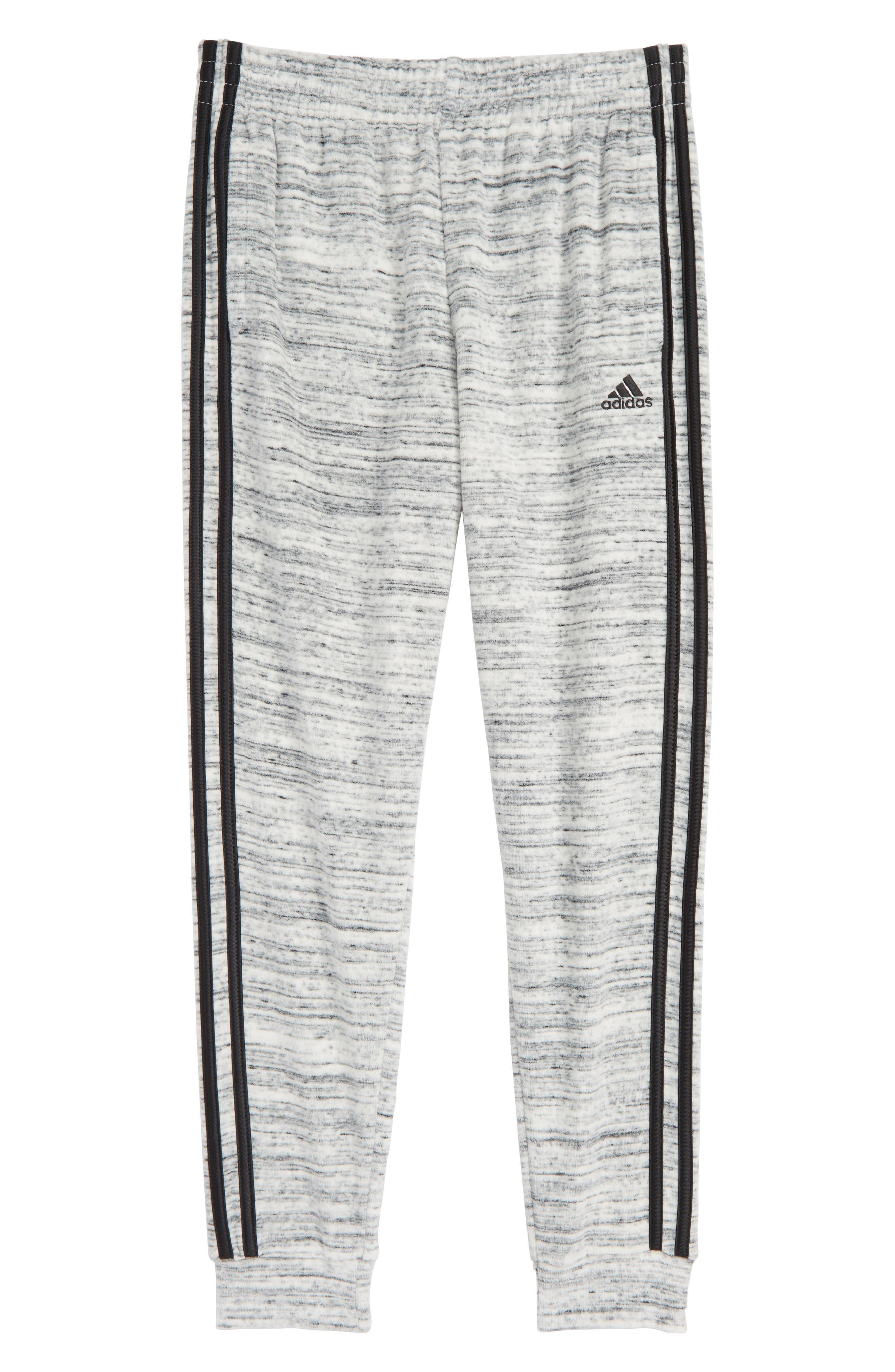 Velour Jogger Pants,                         Main,                         color, LT GREY