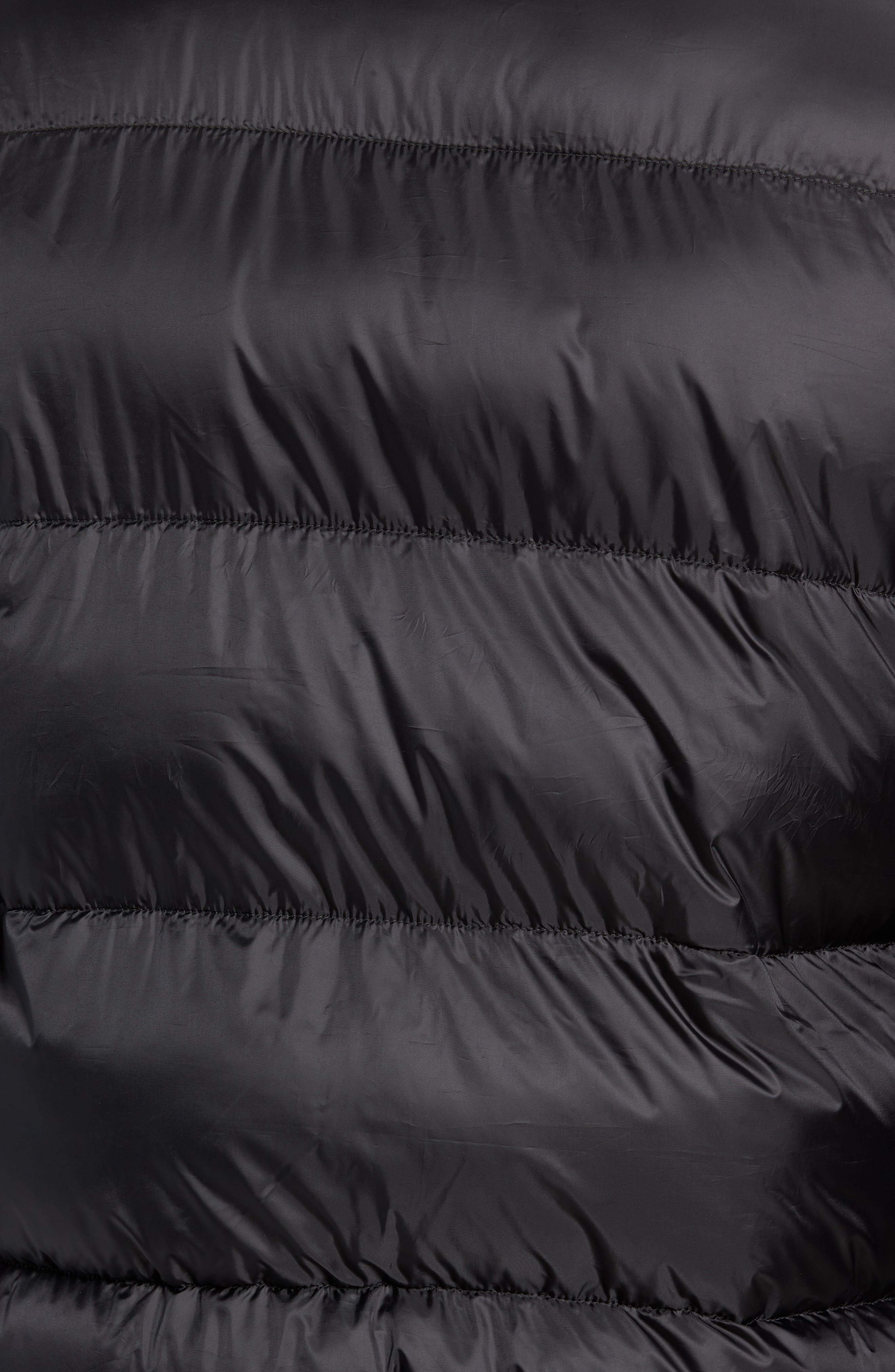 Varsity Jacket,                             Alternate thumbnail 7, color,                             TOMMY BLACK