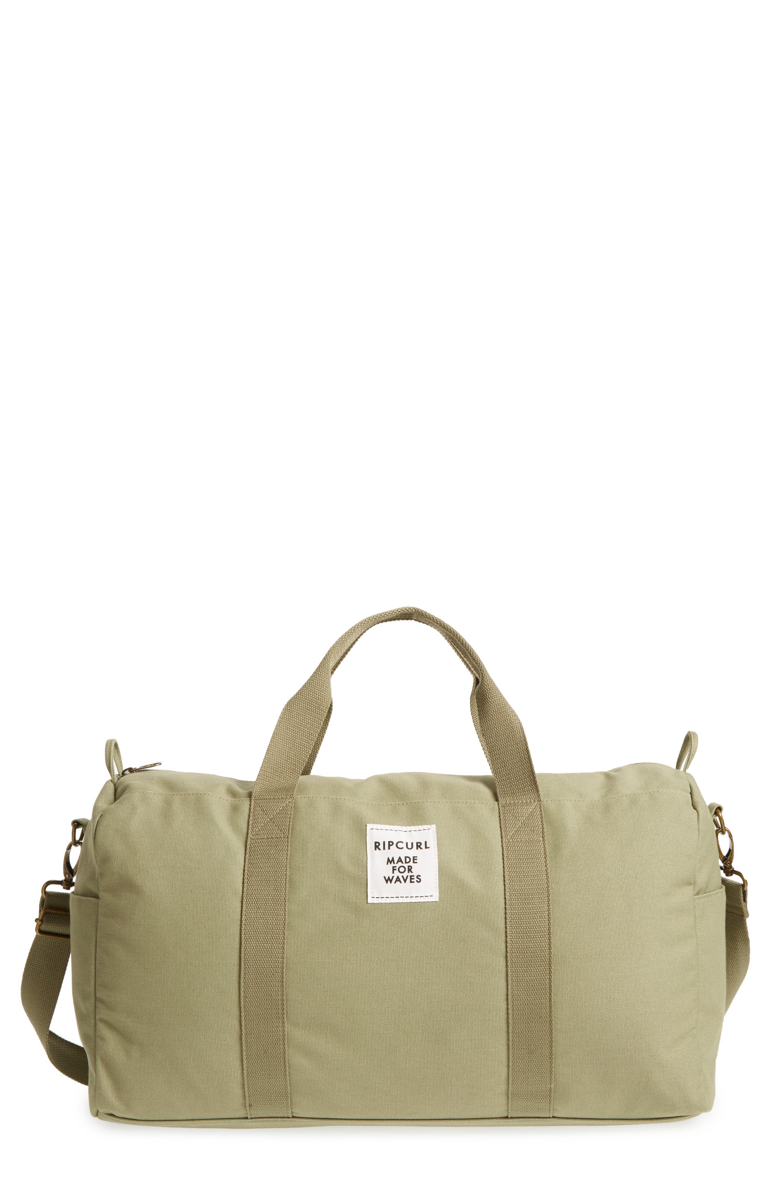 Essentials Canvas Duffel Bag, Main, color, 313