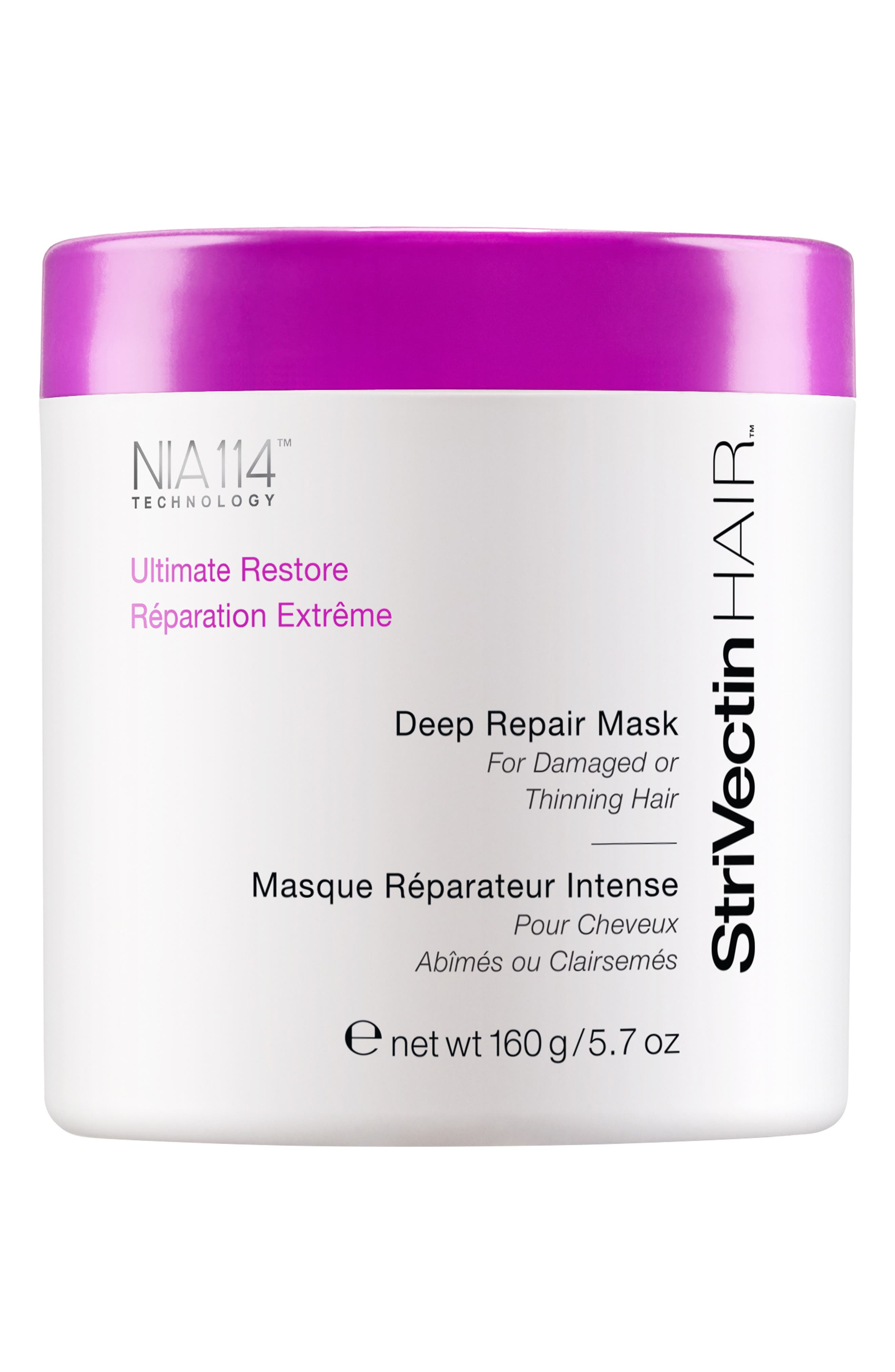 StriVectinHAIR<sup>™</sup> 'Ultimate Restore' Deep Repair Mask for Damaged or Thinning Hair,                             Alternate thumbnail 2, color,                             000