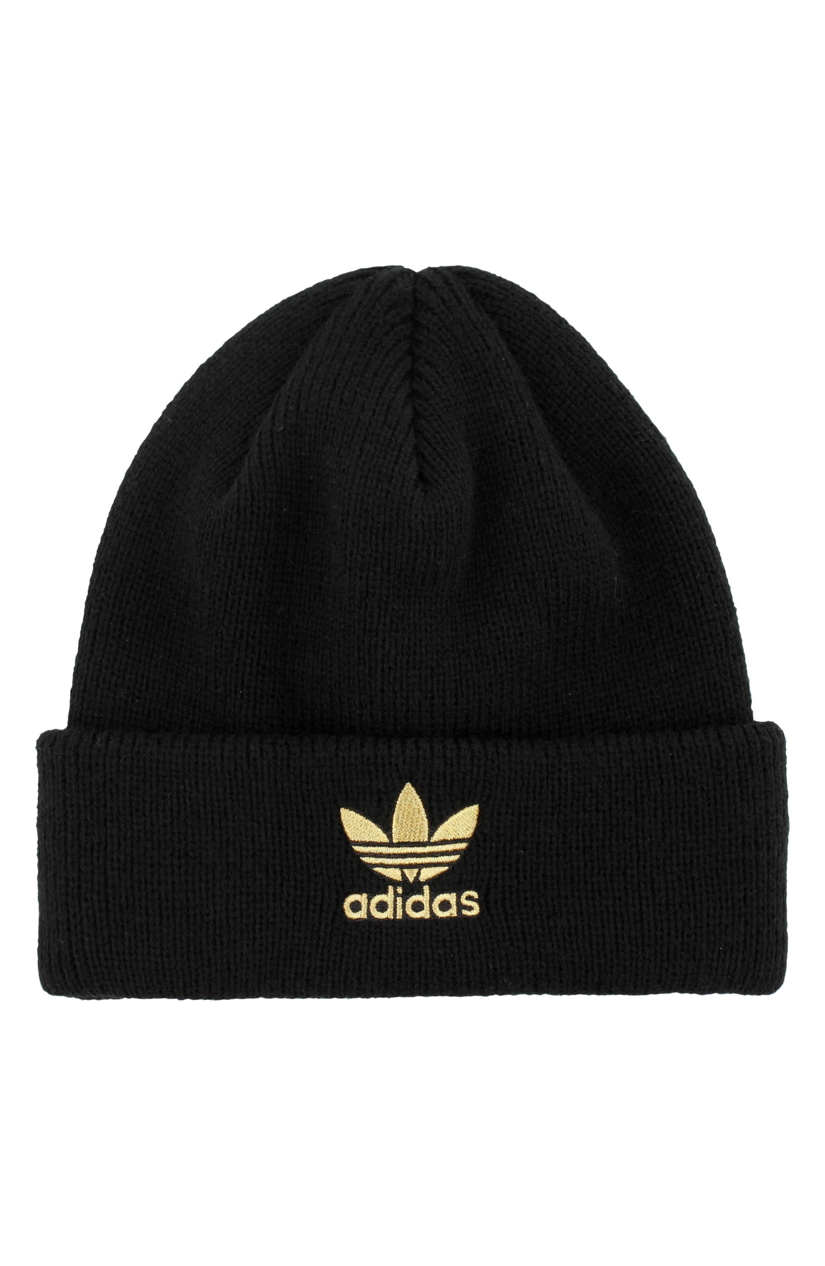 Adidas Trefoil Beanie - Black