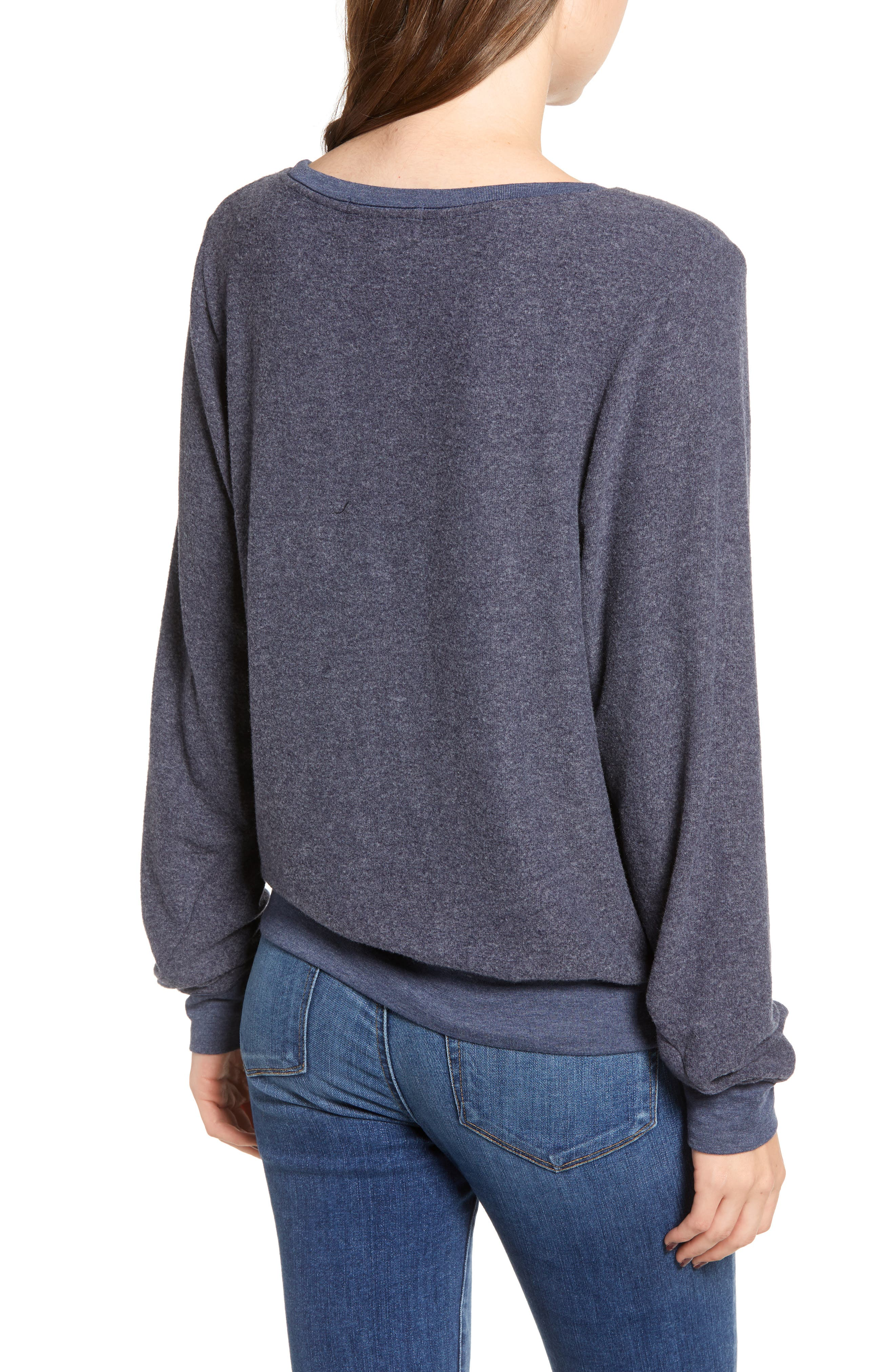 Baggy Beach Jumper Pullover,                             Alternate thumbnail 2, color,                             OXFORD