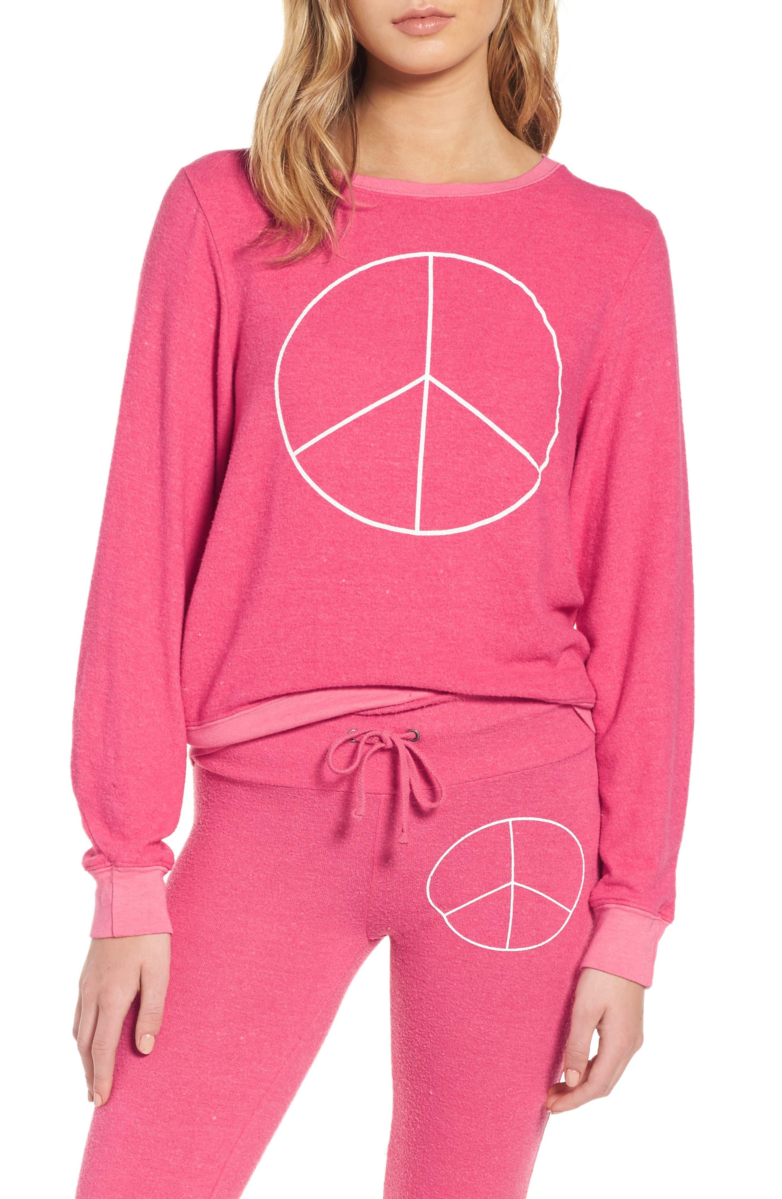 Peace Sweatshirt,                         Main,                         color, 670