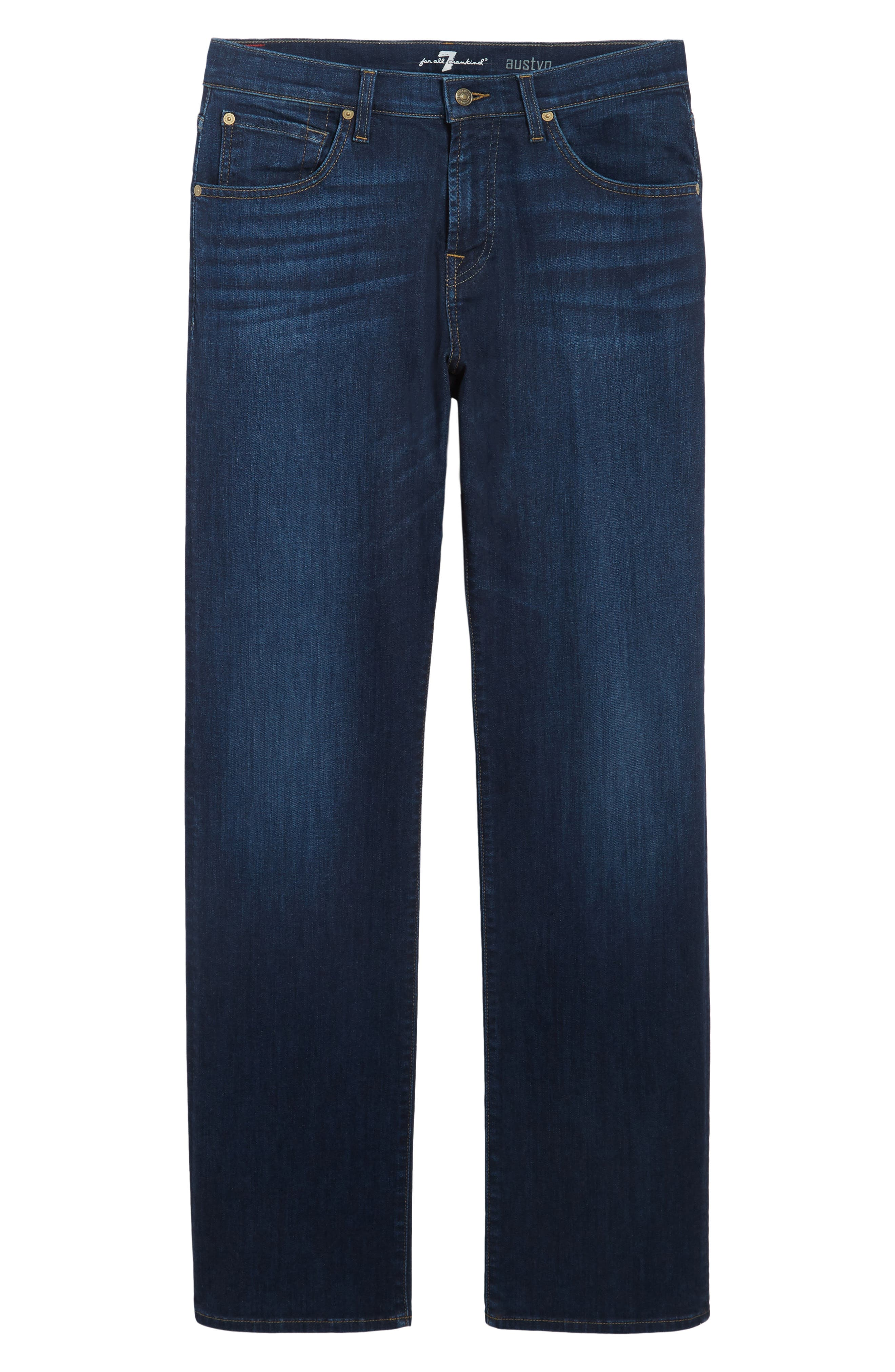 Austyn Relaxed Fit Jeans,                             Alternate thumbnail 6, color,                             402