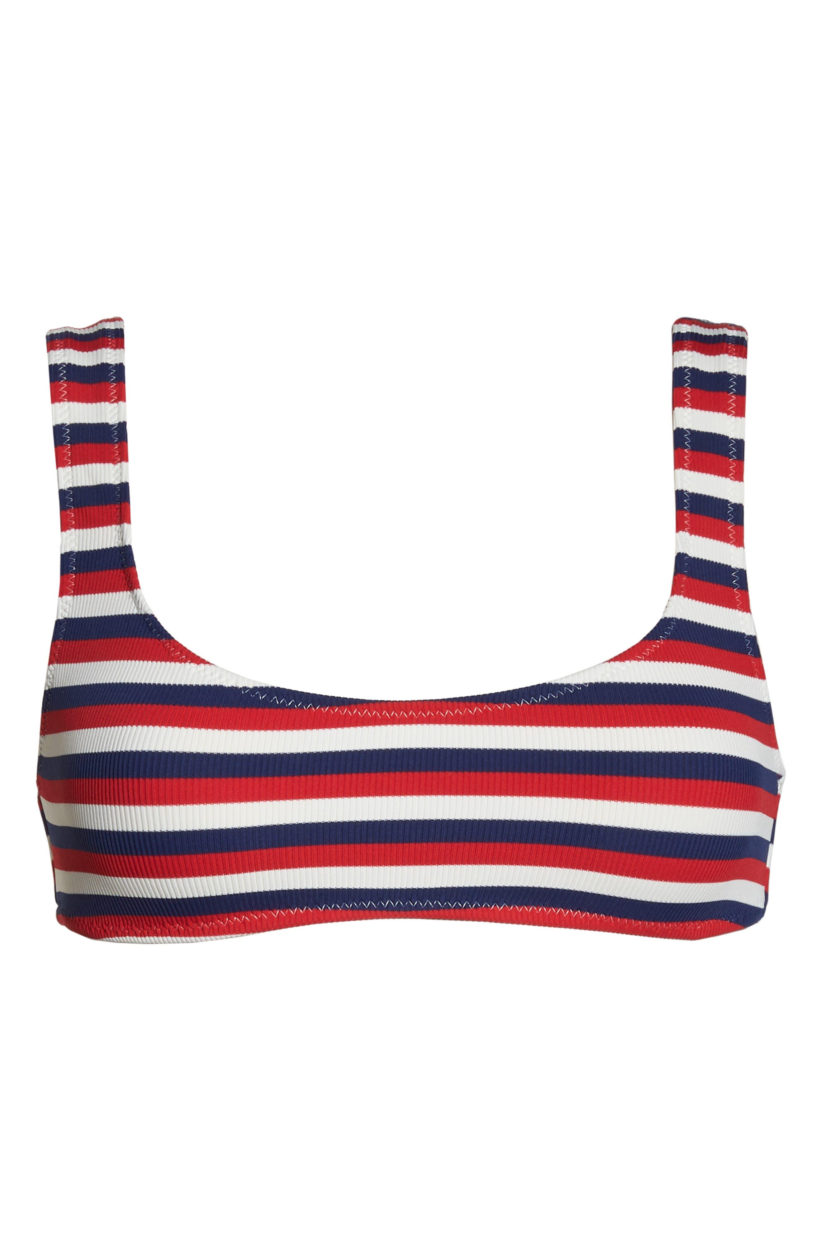 Elle Bikini Top,                             Alternate thumbnail 5, color,                             AMERICAN RIB