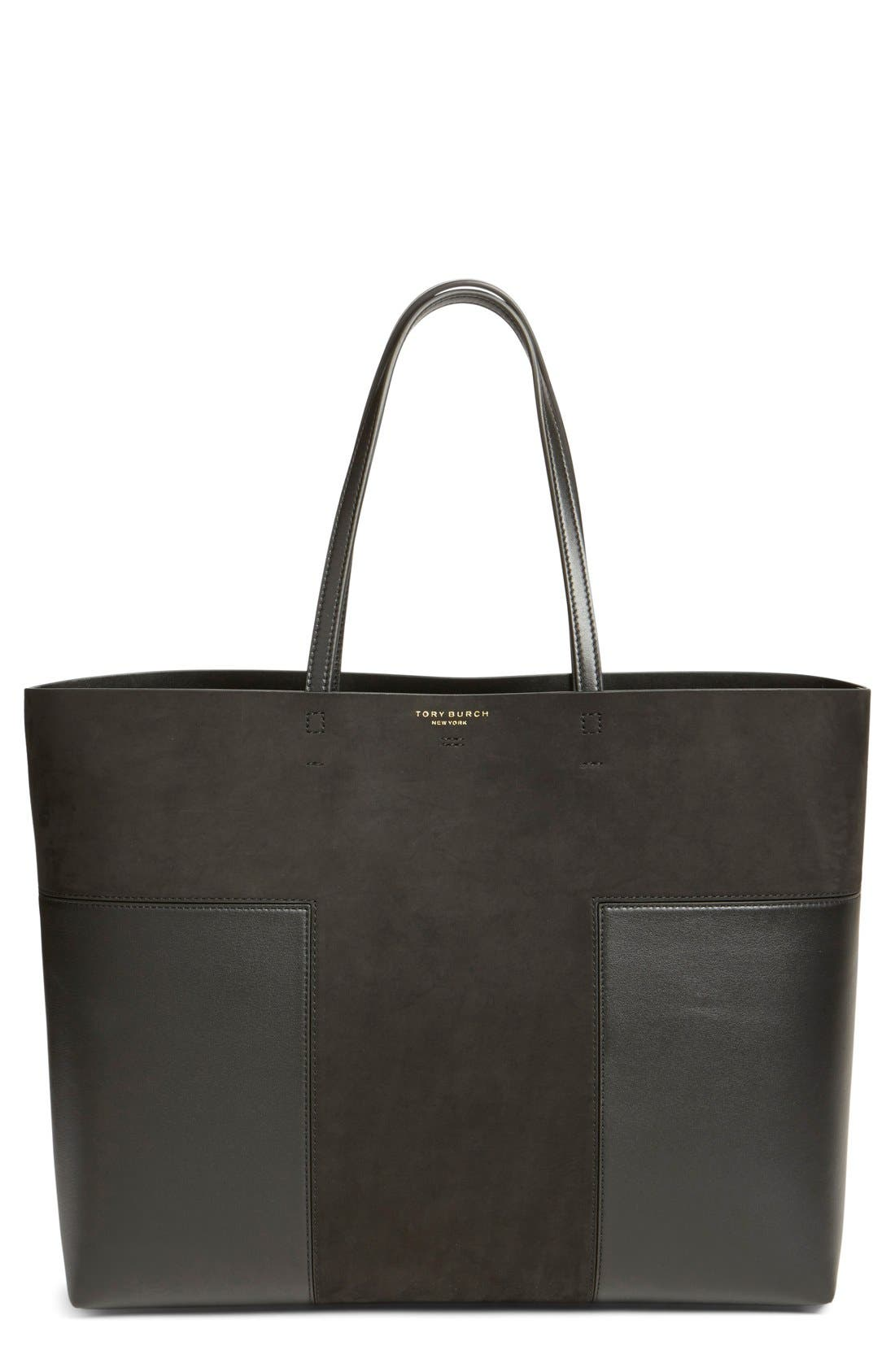 'Block-T - Large' Tote, Main, color, 001
