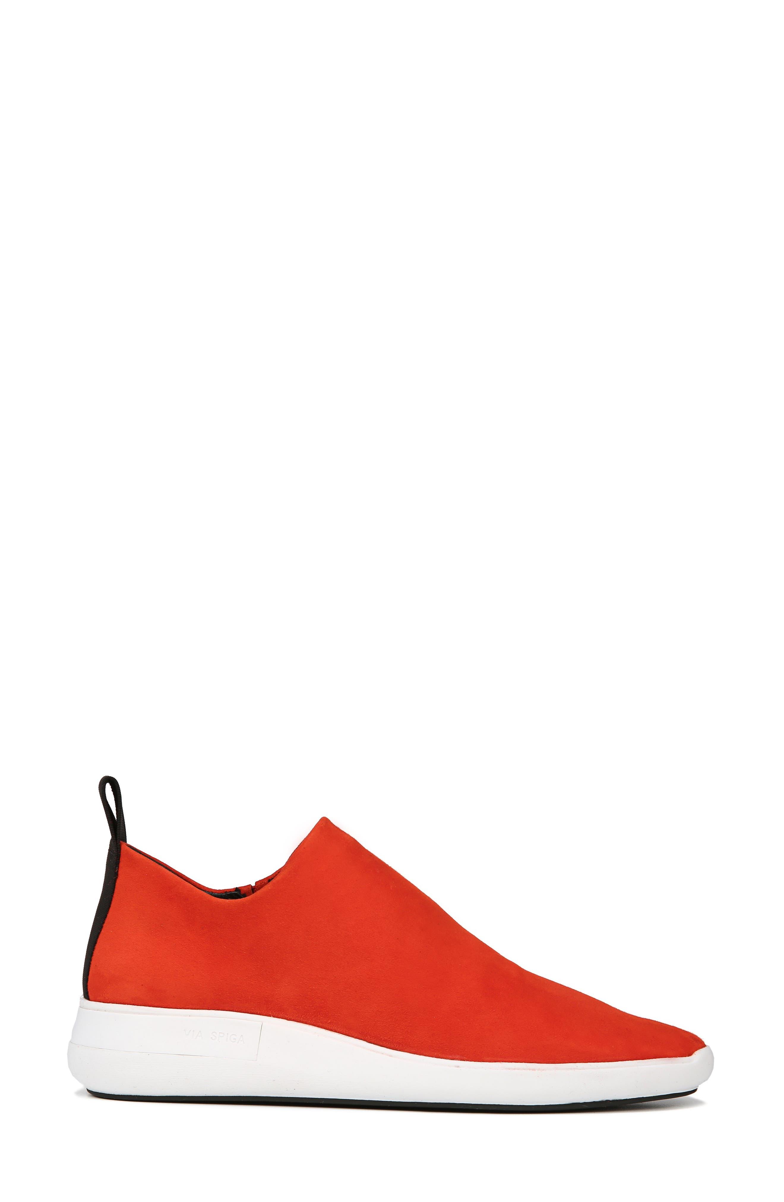 Marlow Slip-On Sneaker,                             Alternate thumbnail 3, color,                             SIENNA