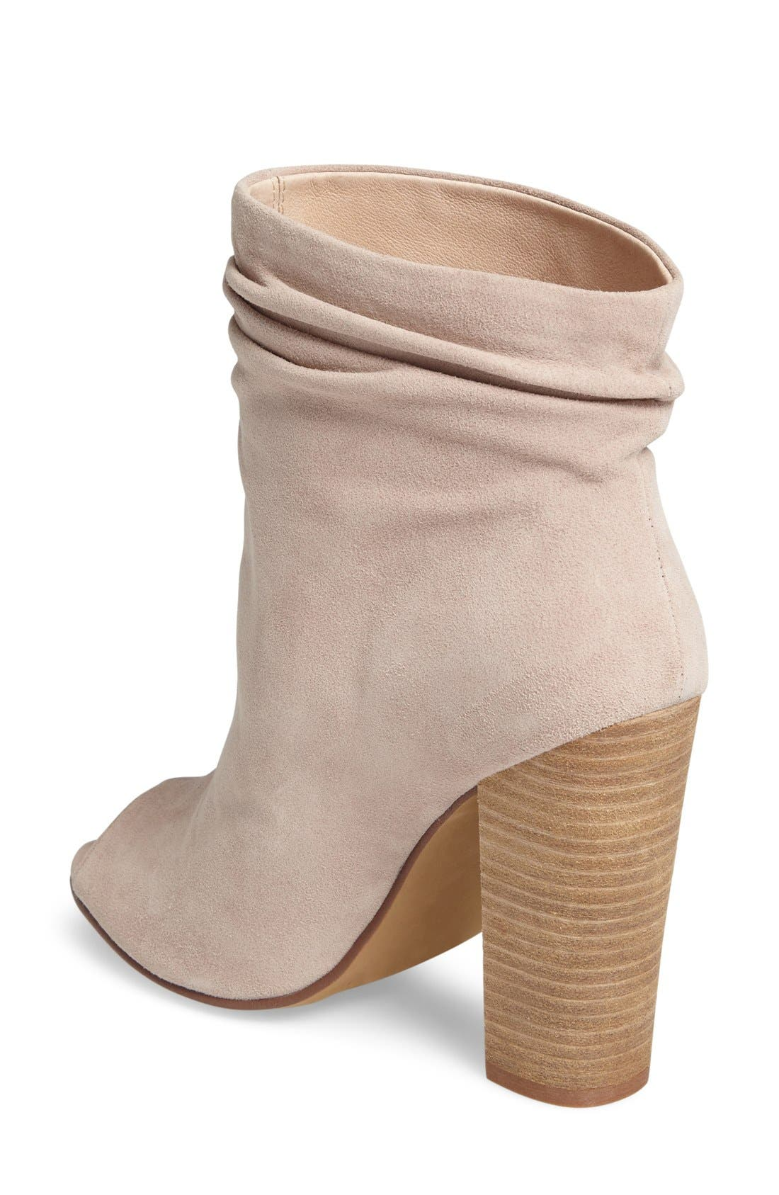 'Laurel' Peep Toe Bootie,                             Alternate thumbnail 16, color,