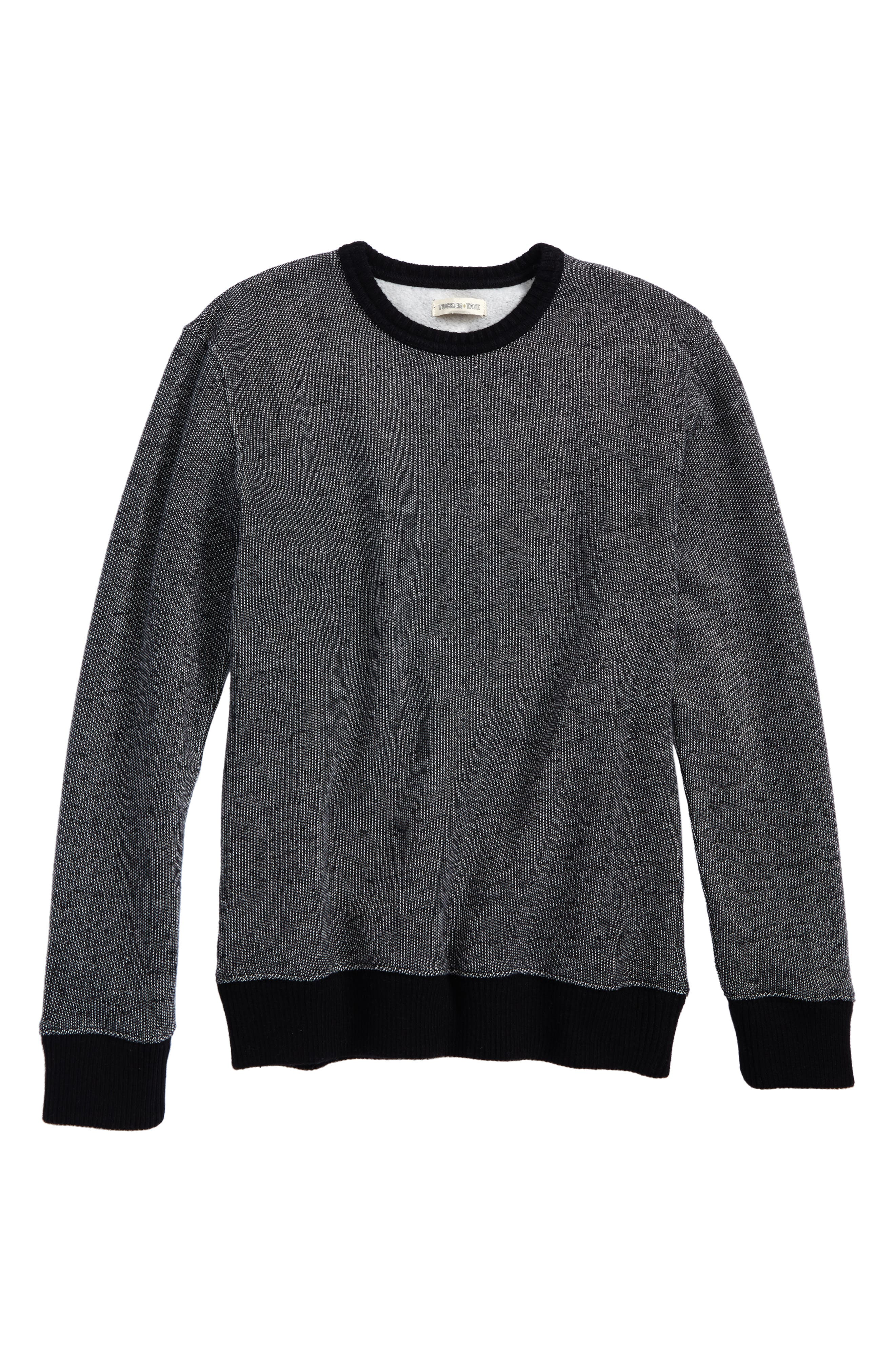 Brushed Fleece Pullover,                             Main thumbnail 1, color,