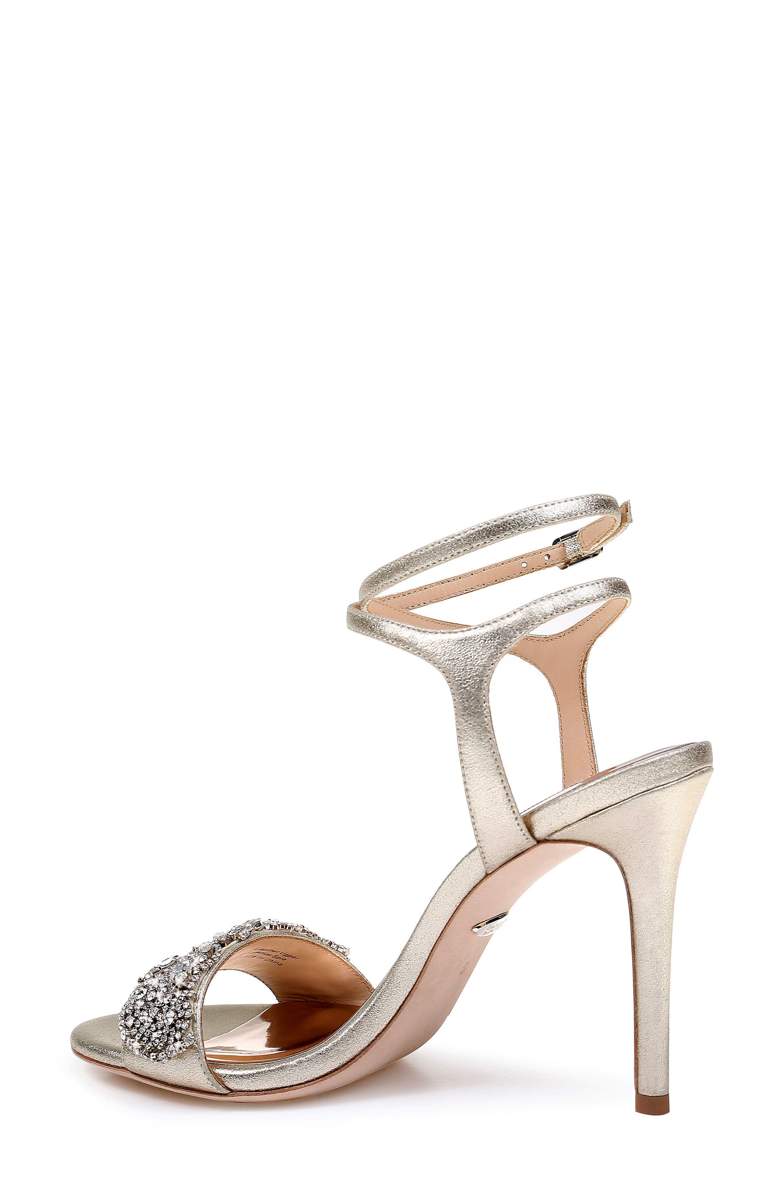 Hailey Embellished Ankle Strap Sandal,                             Alternate thumbnail 2, color,                             040