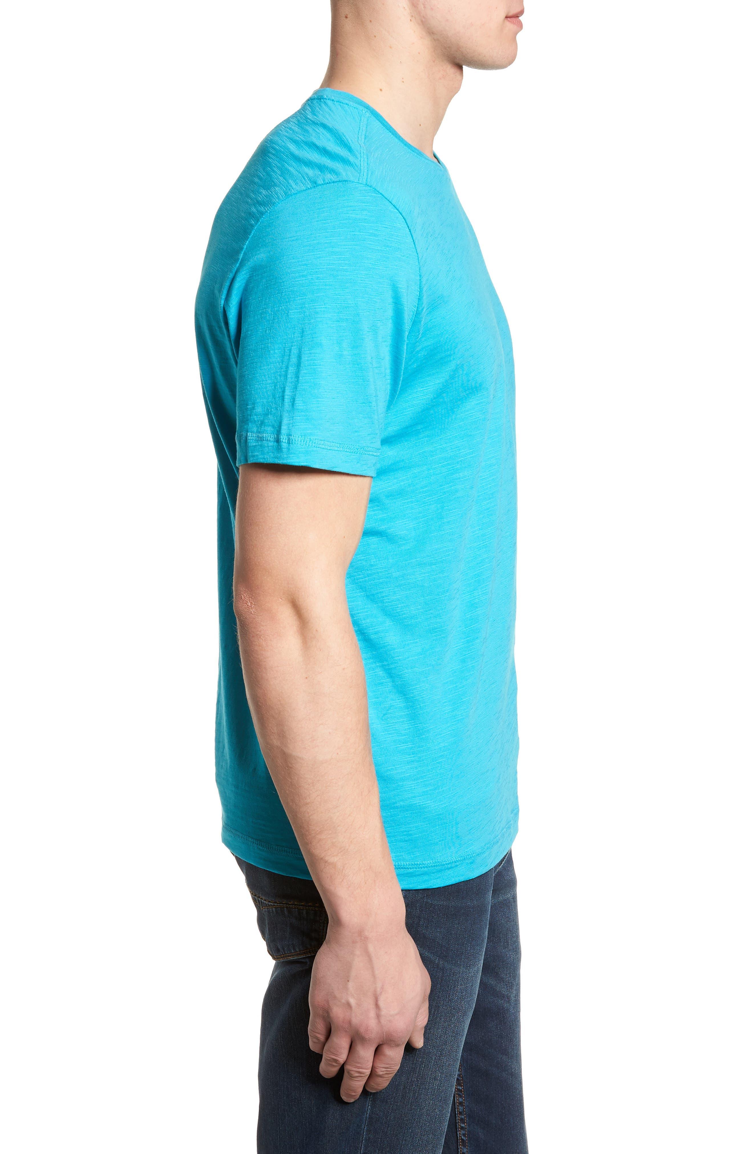 Portside Palms V-Neck T-Shirt,                             Alternate thumbnail 24, color,