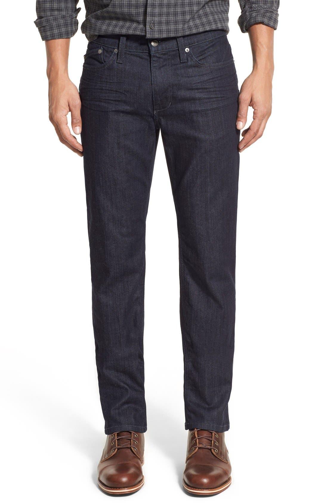Brixton Slim Straight Fit Jeans,                             Main thumbnail 1, color,                             KING