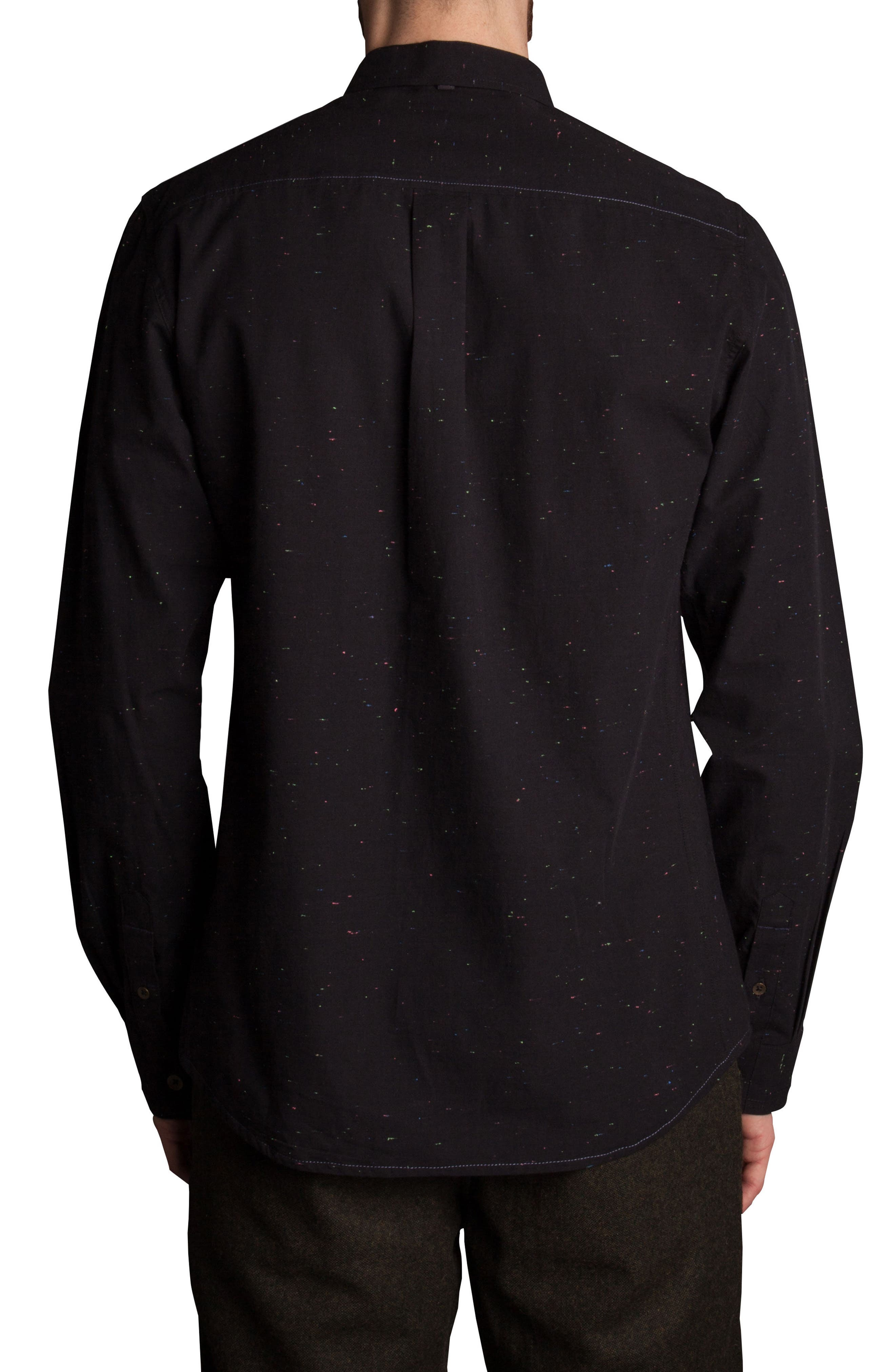 Base Speck Sport Shirt,                             Alternate thumbnail 2, color,                             001