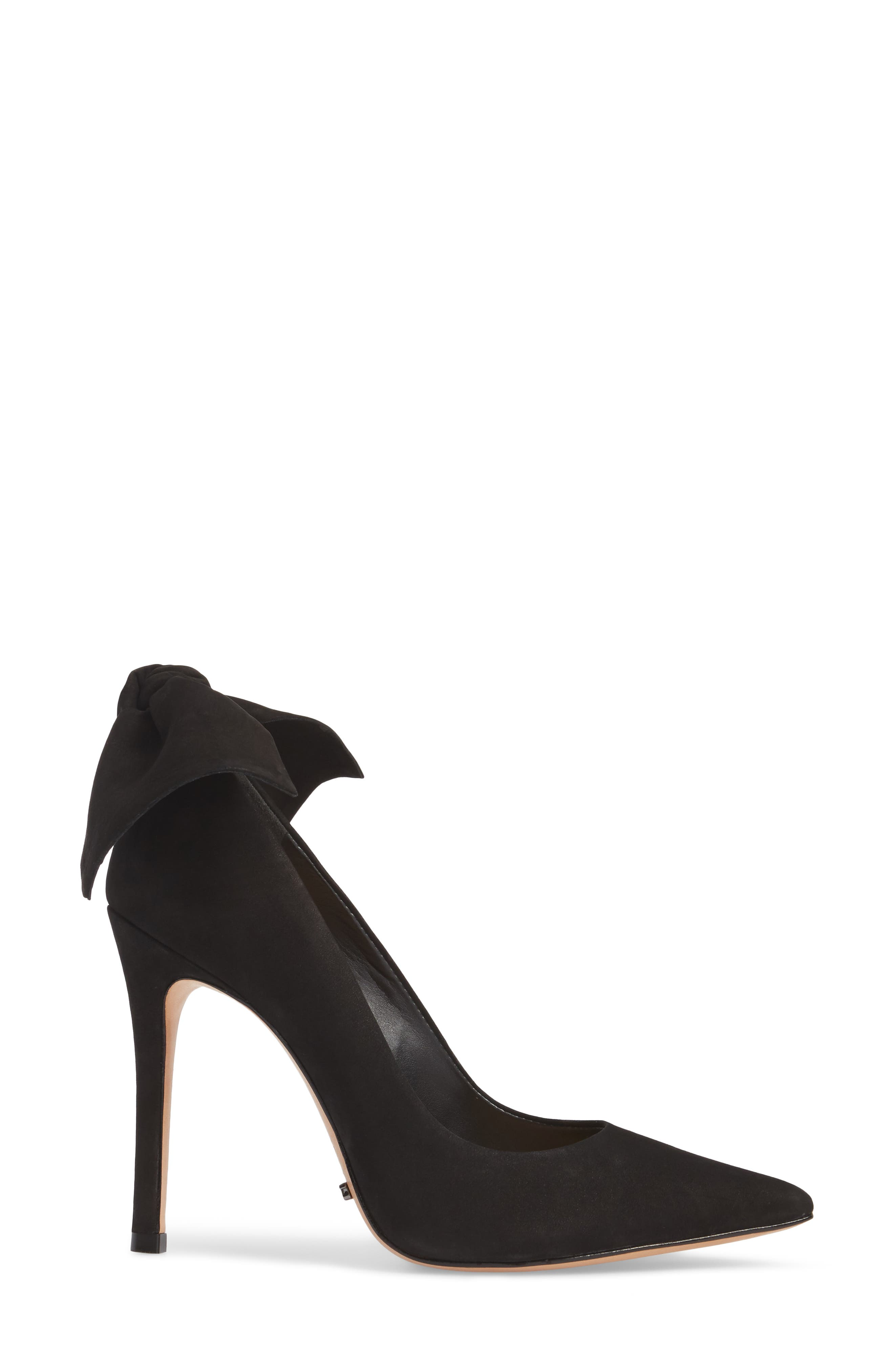SCHUTZ,                             Blasiana Bow Pump,                             Alternate thumbnail 3, color,                             001
