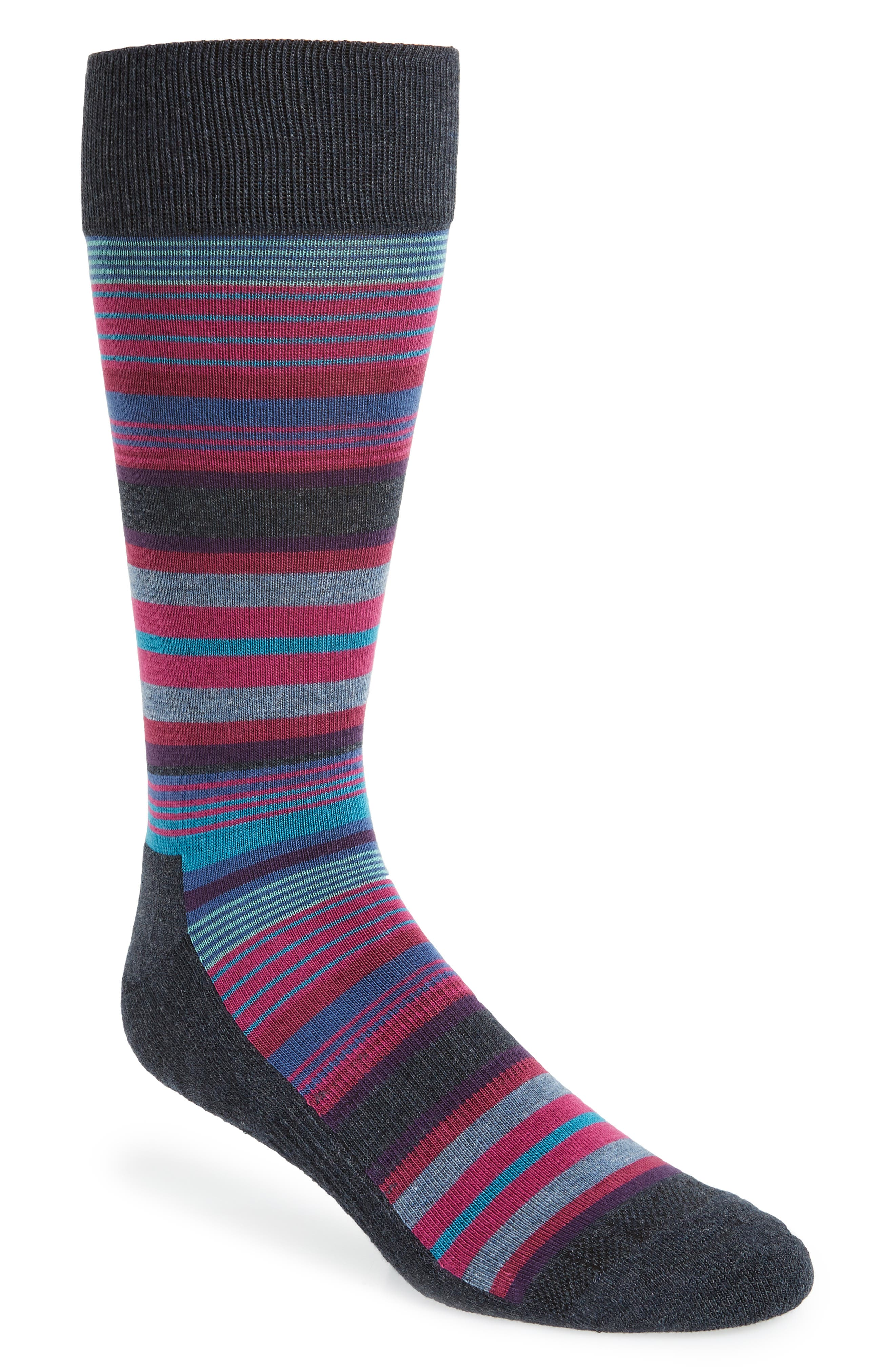 Variegated Stripes Socks,                         Main,                         color, 410