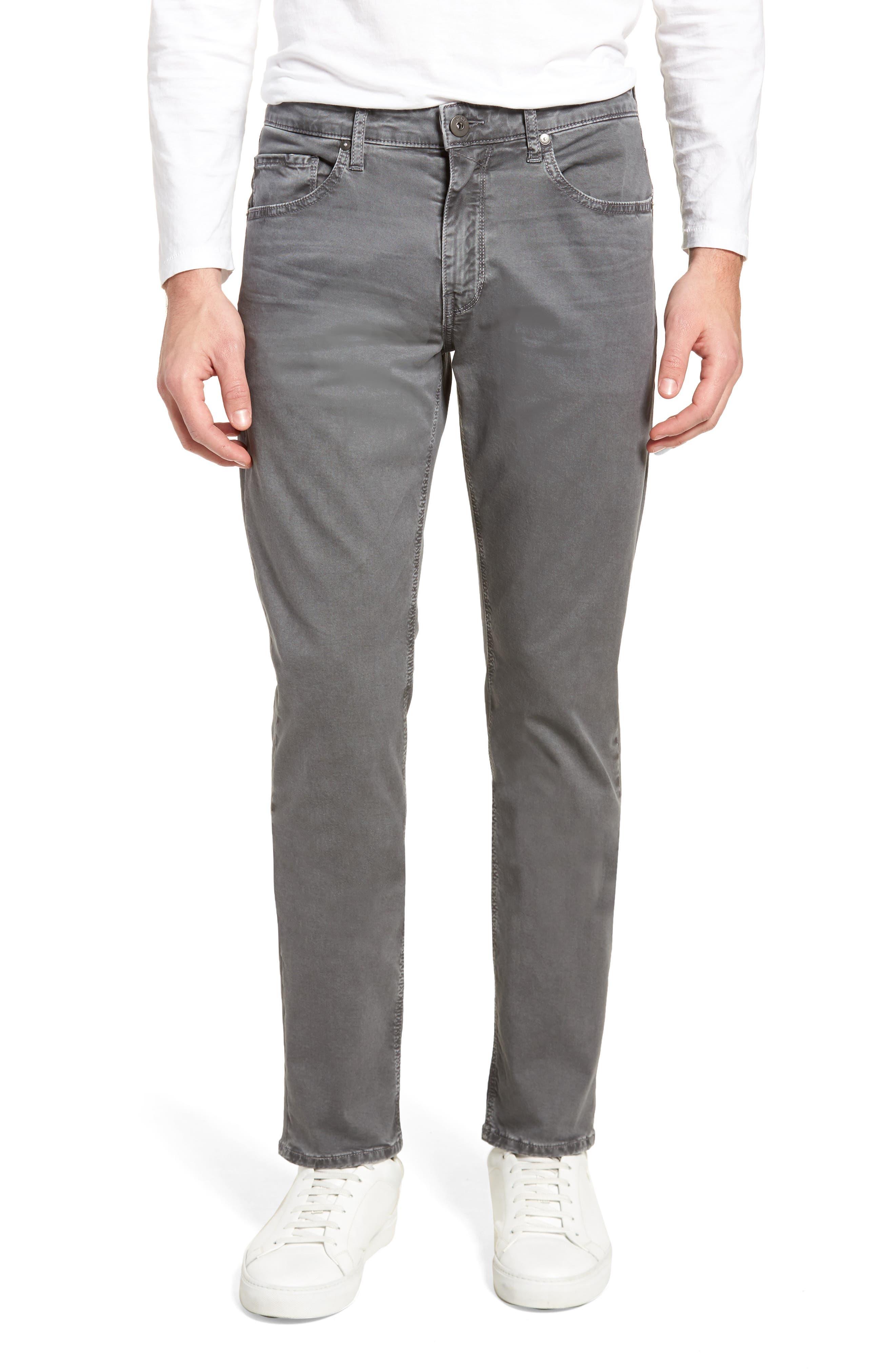 Lennox Slim Fit Five-Pocket Pants,                         Main,                         color, VINTAGE THUNDER GREY