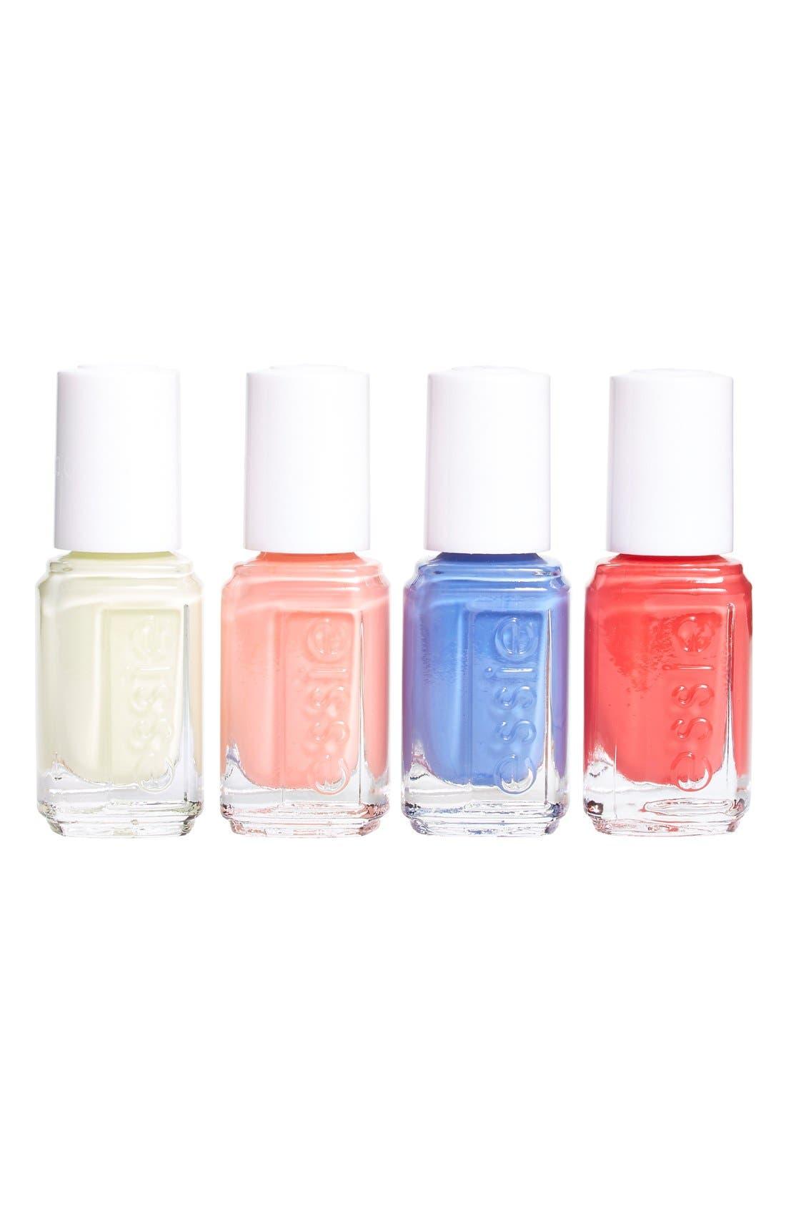 ESSIE  'Summer 2015' Mini Four-Pack, Main, color, 000