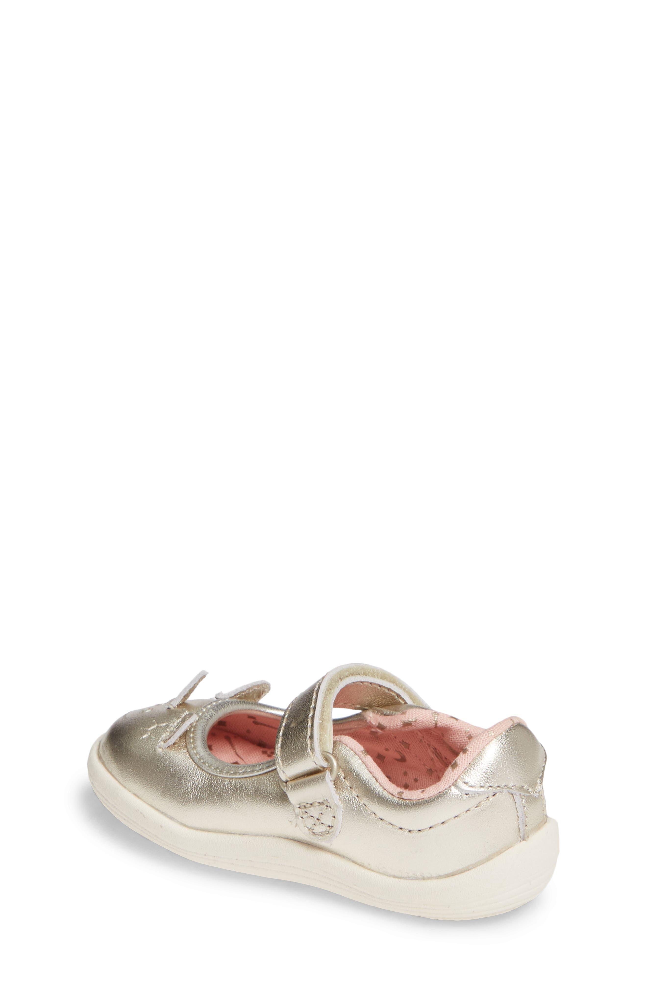 Clara Metallic Shoe,                             Alternate thumbnail 2, color,                             GOLD LEATHER