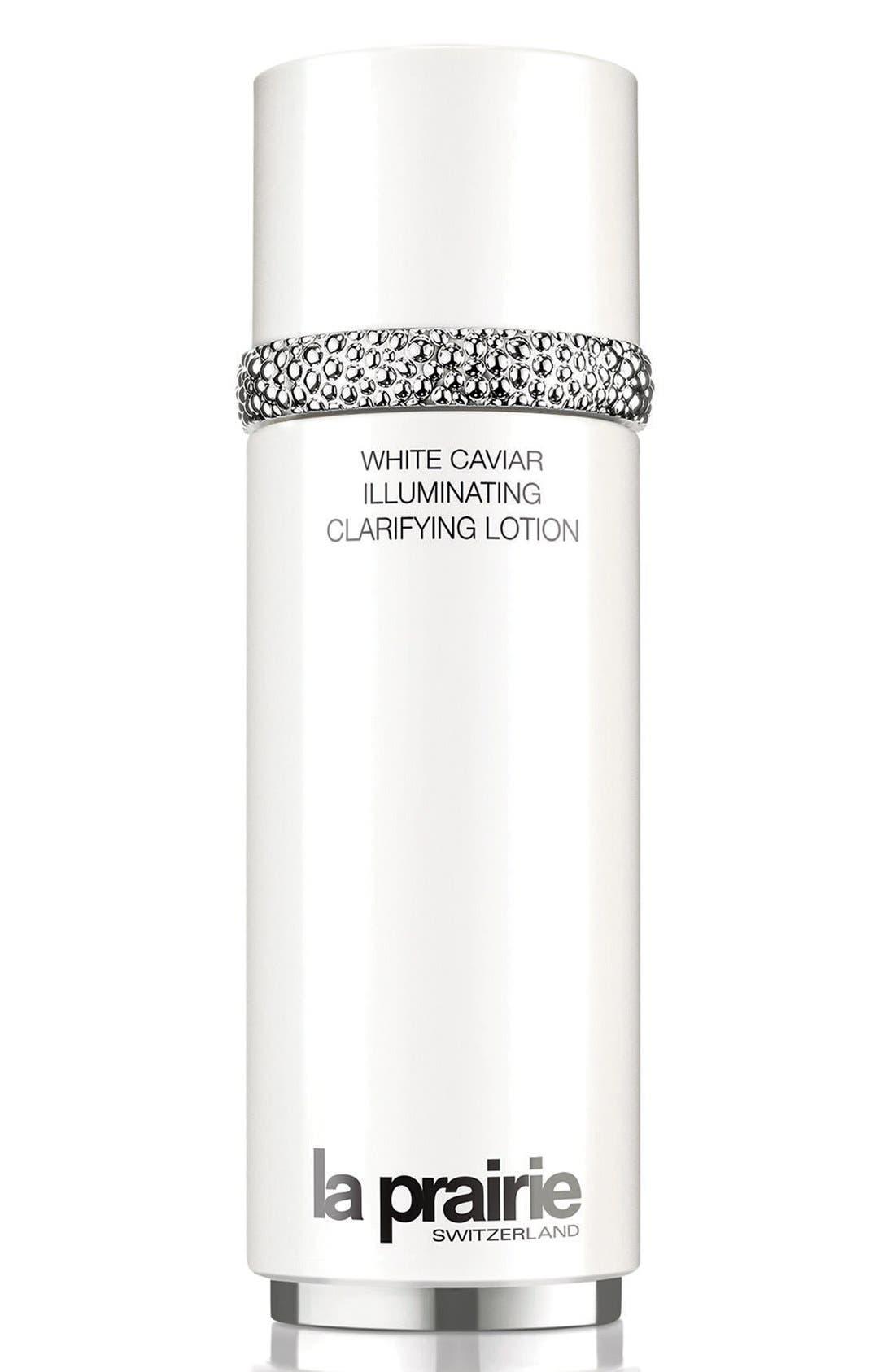 LA PRAIRIE,                             White Caviar Illuminating Clarifying Lotion,                             Main thumbnail 1, color,                             NO COLOR