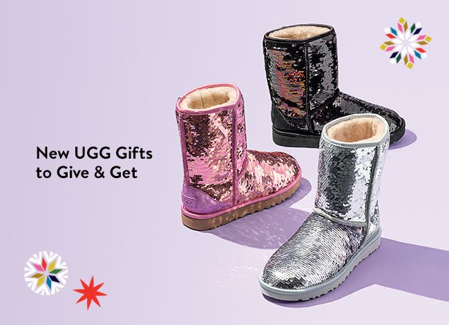 New UGG gifts to give and get.
