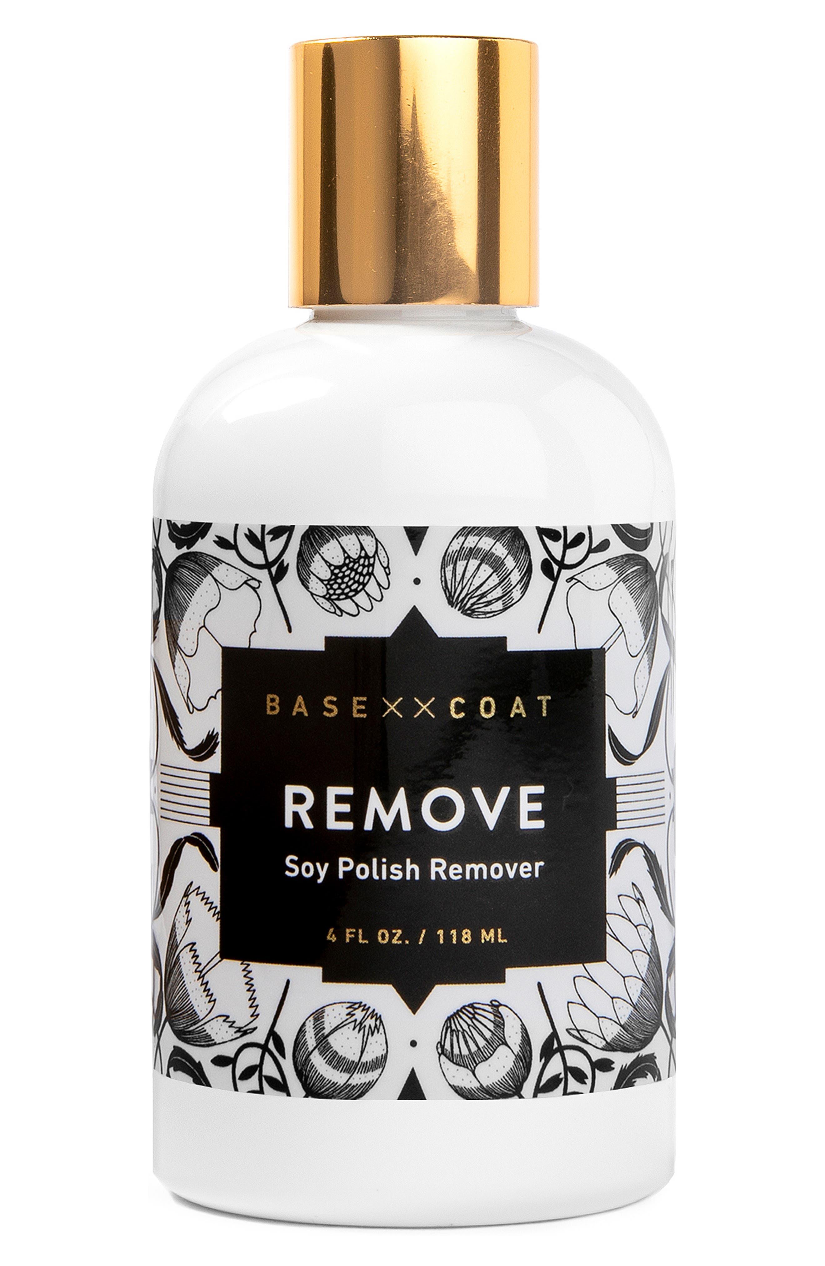 Soy Nail Polish Remover,                             Main thumbnail 1, color,                             NO COLOR