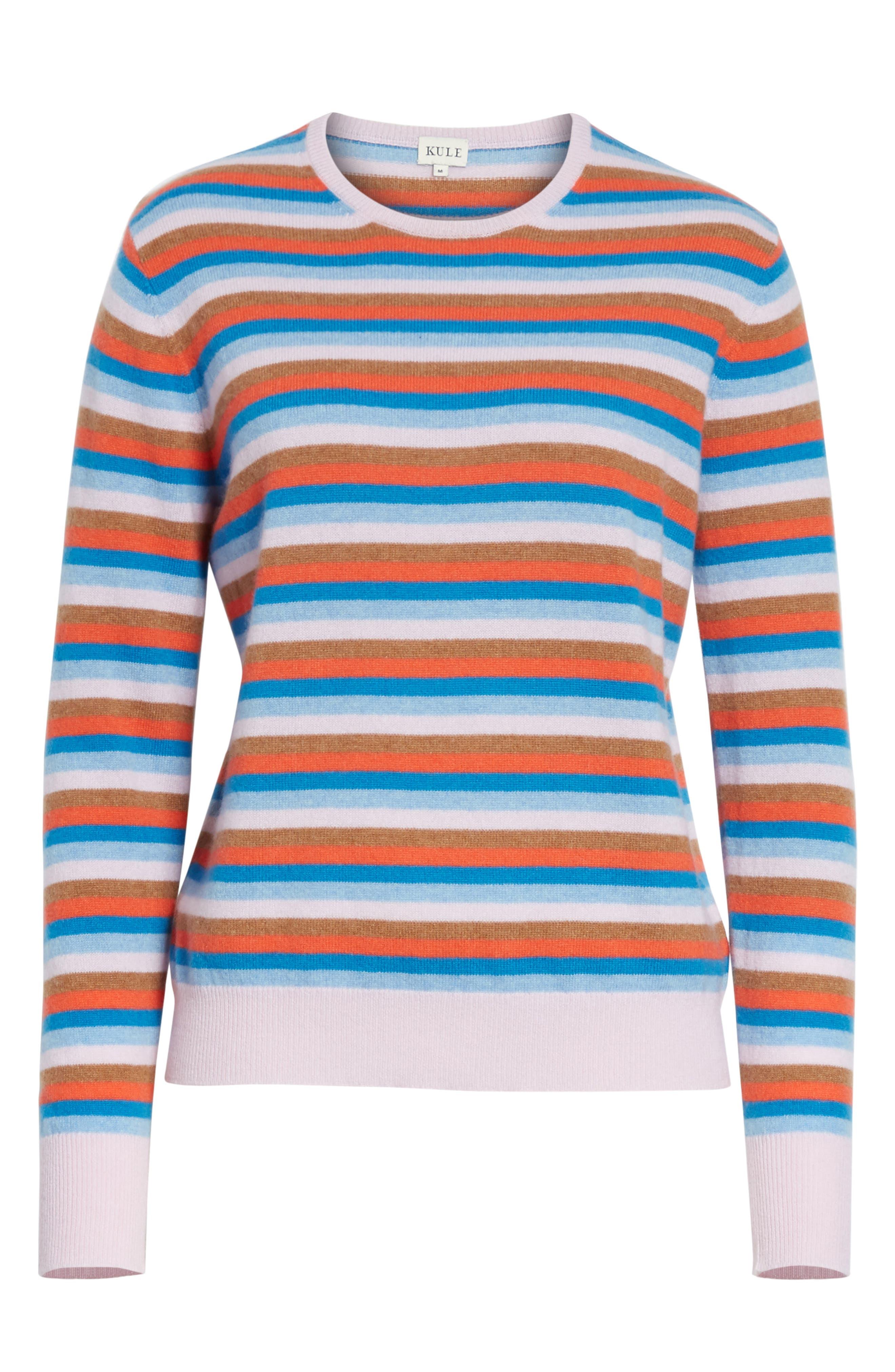 The Raven Cashmere Sweater,                             Alternate thumbnail 6, color,