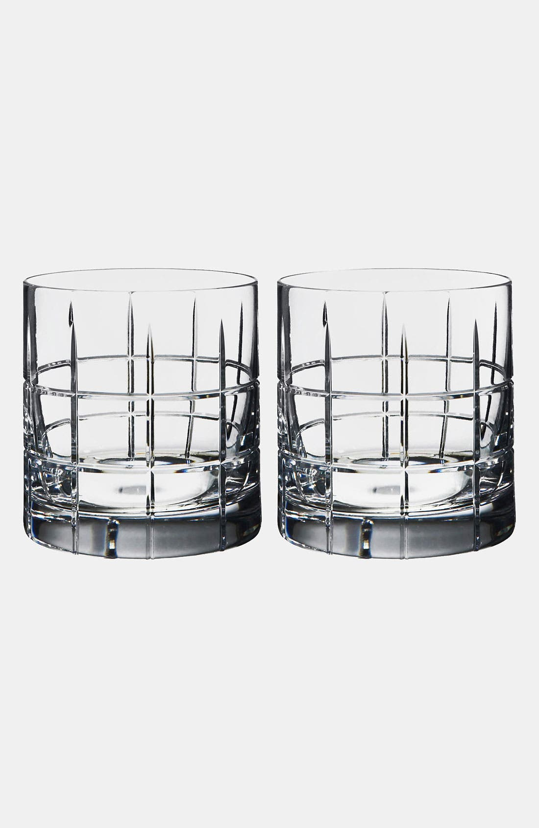 'Street' Double Old Fashioned Tumblers,                         Main,                         color, NO COLOR