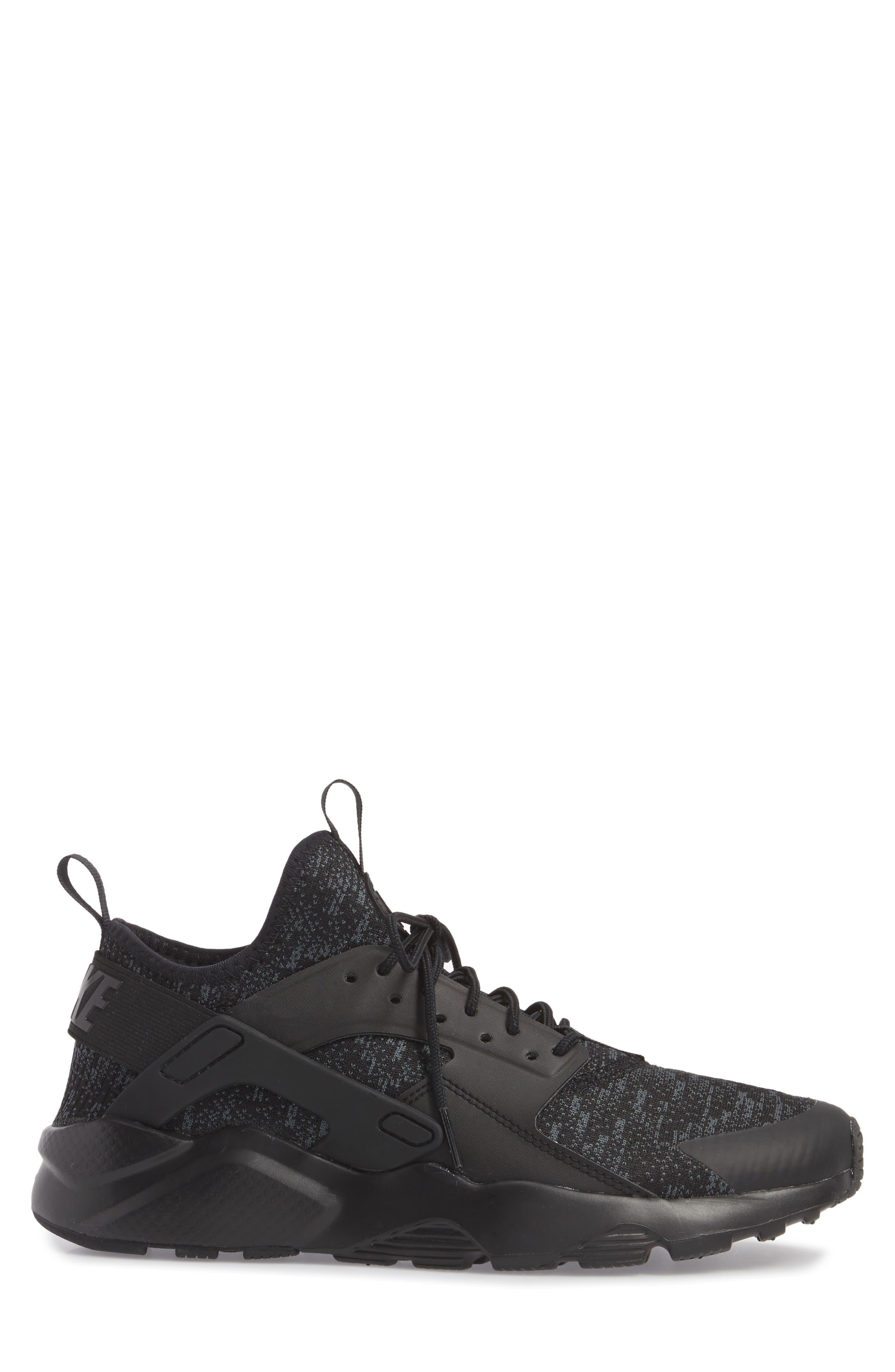 Air Huarache Run Ultra SE Sneaker,                             Alternate thumbnail 3, color,                             006