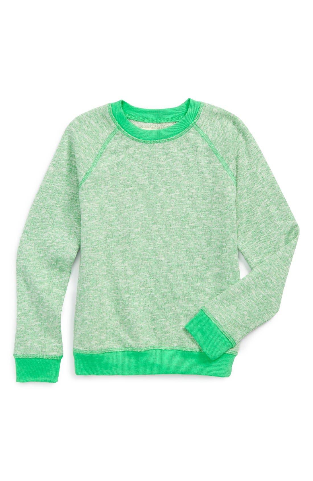 Space Dye Fleece Sweatshirt,                         Main,                         color, 330