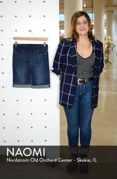 Sienna Pull-On Denim Bermuda Shorts, sales video thumbnail