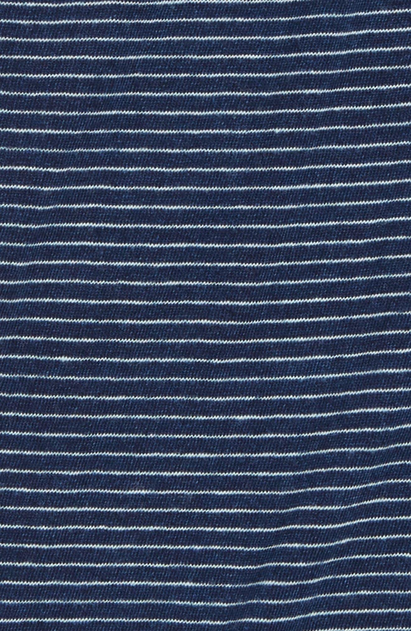 Stripe Bodysuit,                             Alternate thumbnail 2, color,                             DARK STONE INDI