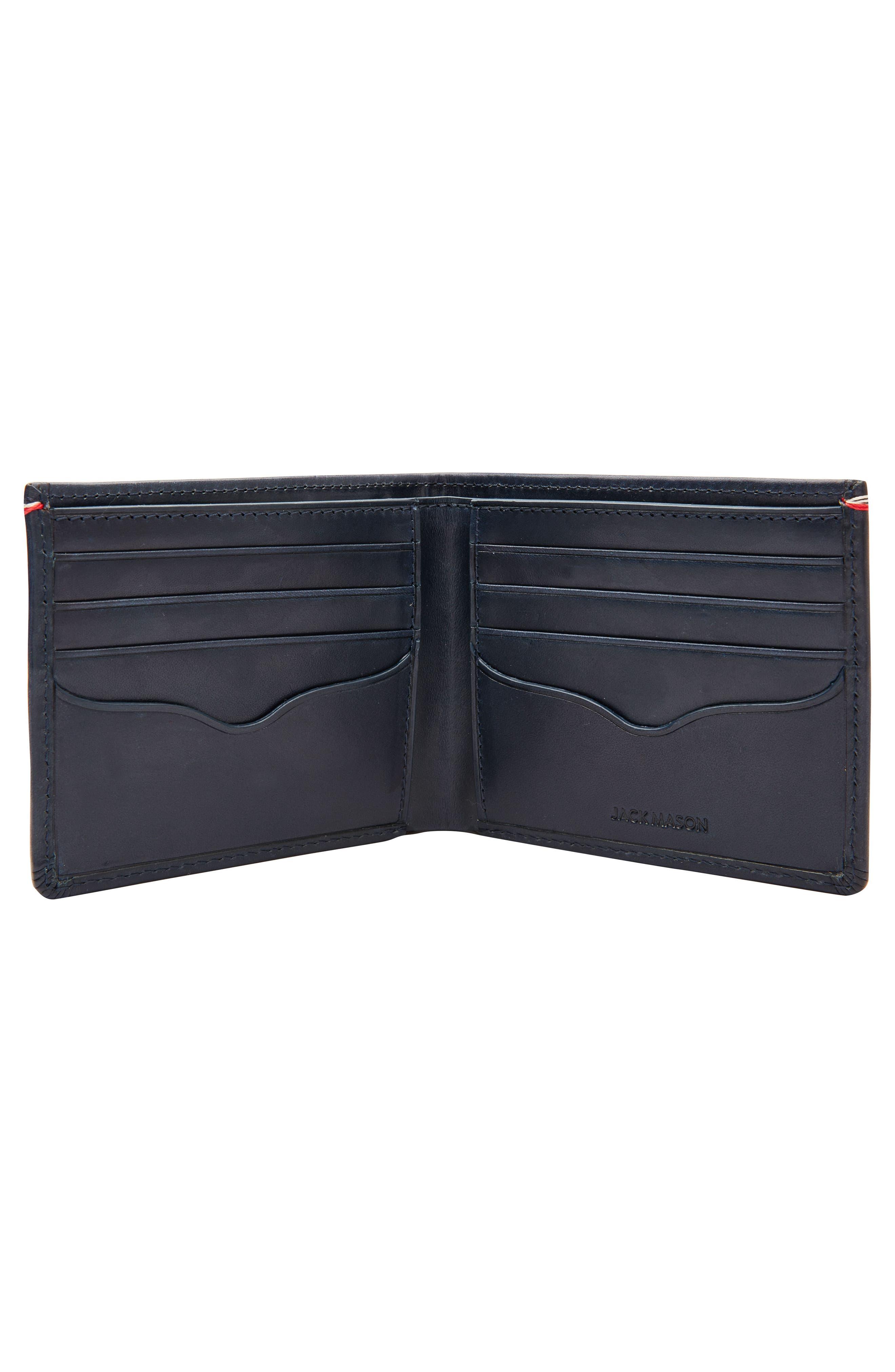 Core Leather Wallet,                             Alternate thumbnail 5, color,