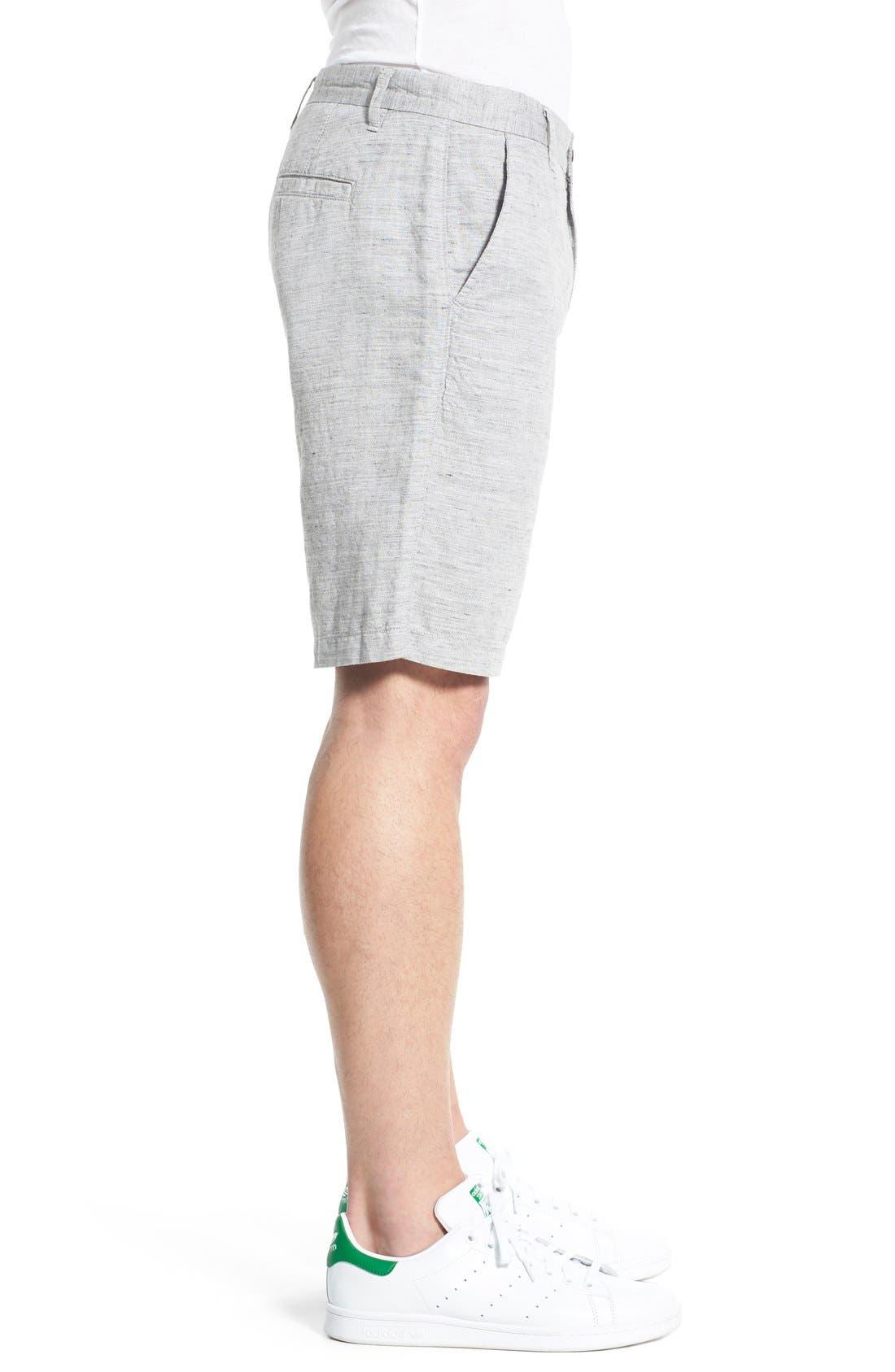 'Thompson' Slim Fit Shorts,                             Alternate thumbnail 3, color,                             020