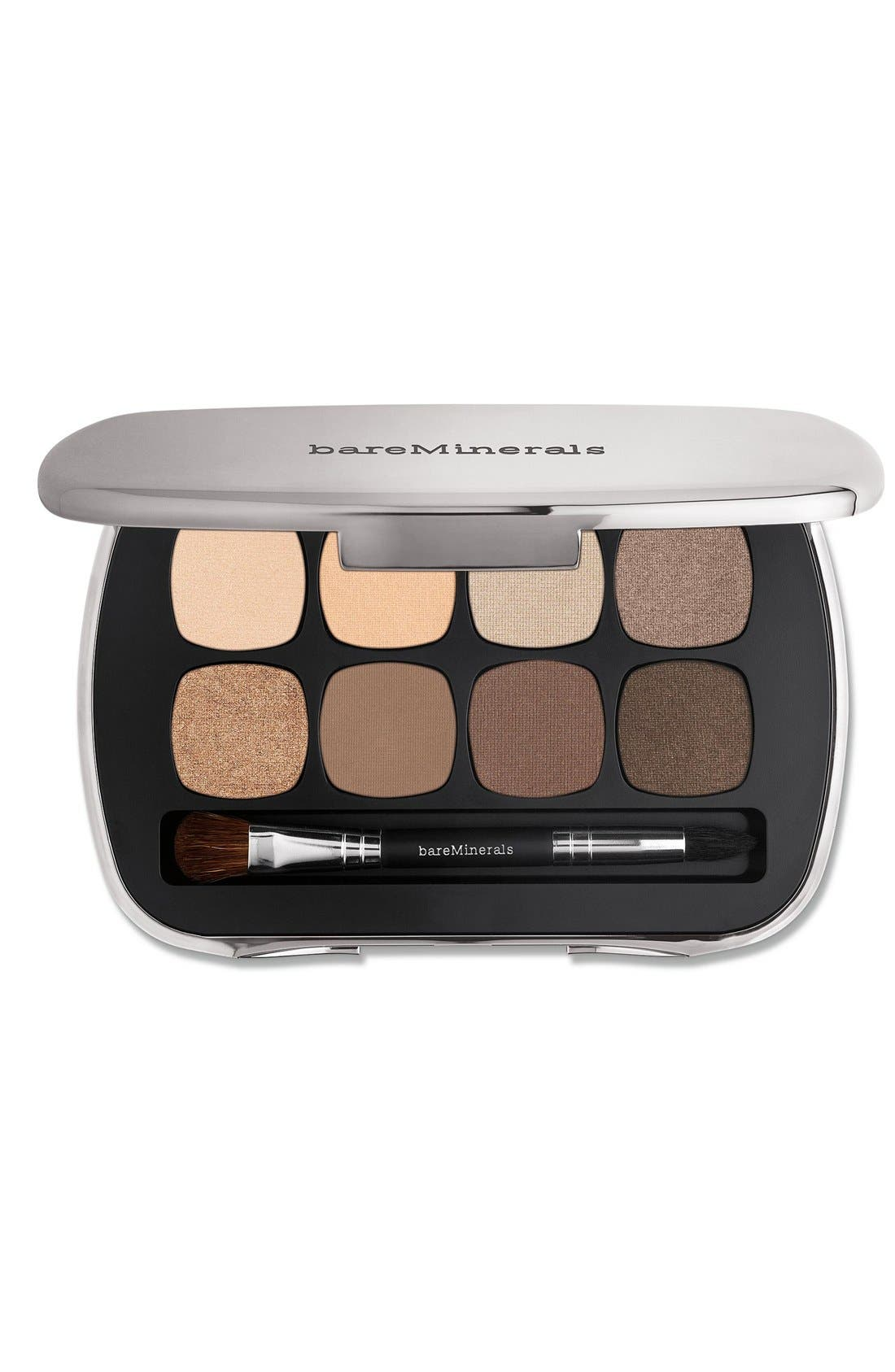 READY 8.0 The Bare Neutrals Eyeshadow Palette,                         Main,                         color, NO COLOR