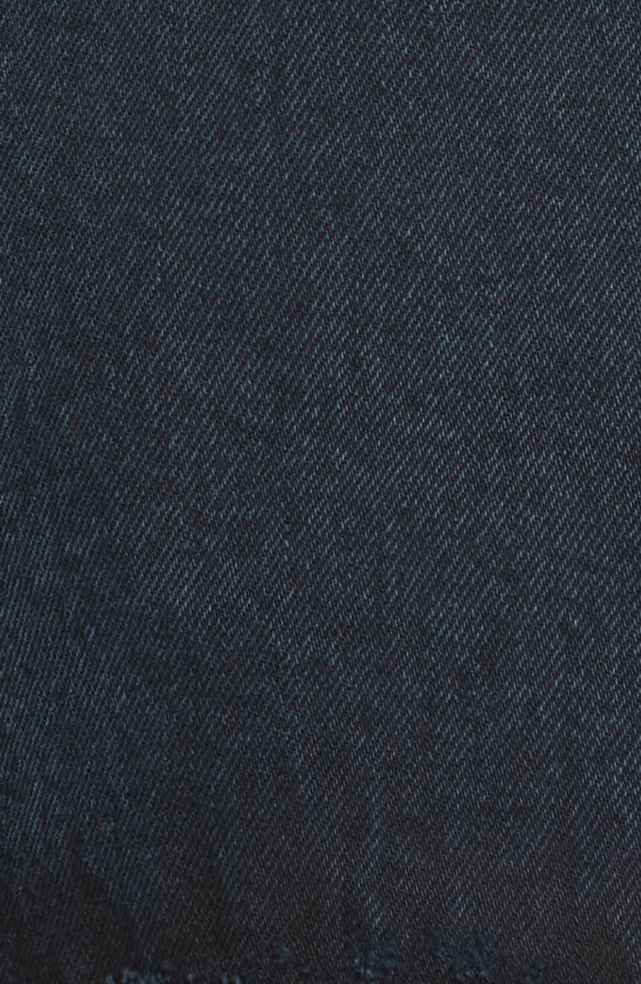 PSWL Folded Denim Skirt,                             Alternate thumbnail 5, color,