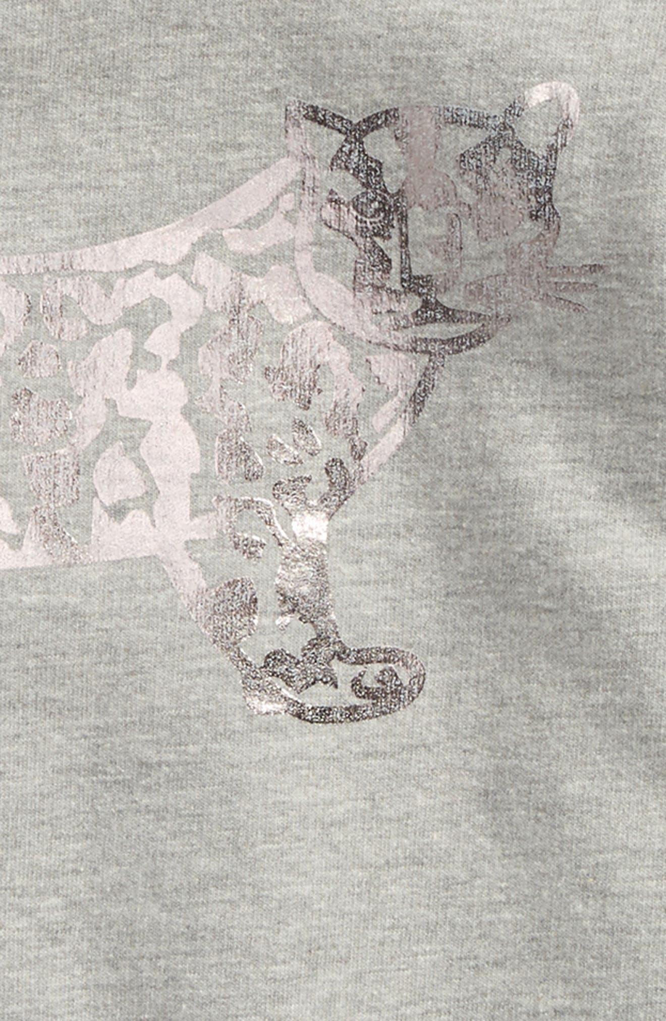 Luna Hooded Sweatshirt Dress,                             Alternate thumbnail 3, color,                             050