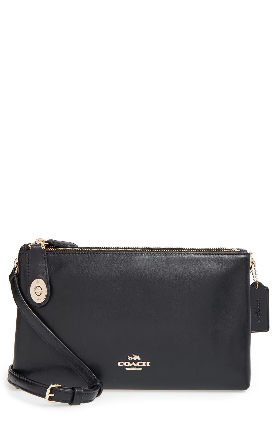 COACH 'Crosby' Crossbody Bag, Main, color, 001