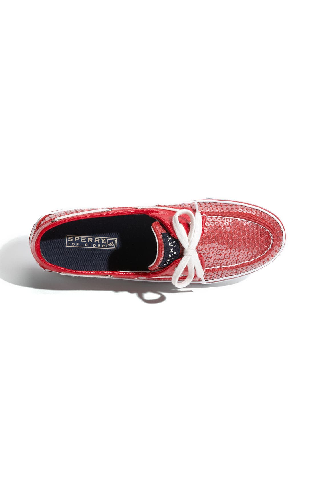 Top-Sider<sup>®</sup> 'Bahama' Sequined Boat Shoe,                             Alternate thumbnail 155, color,
