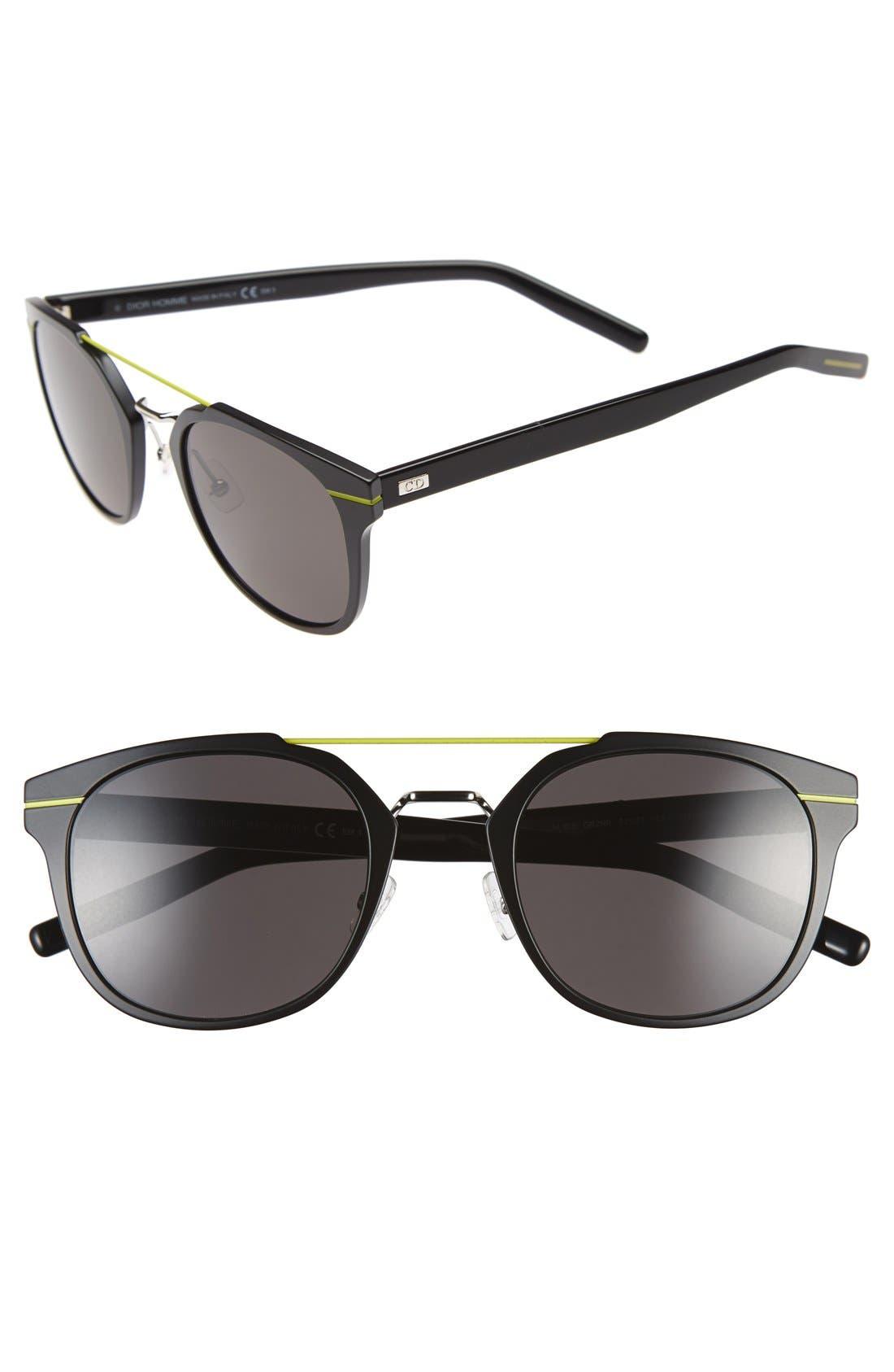 'AL 13.5S' 52mm Sunglasses,                             Main thumbnail 1, color,