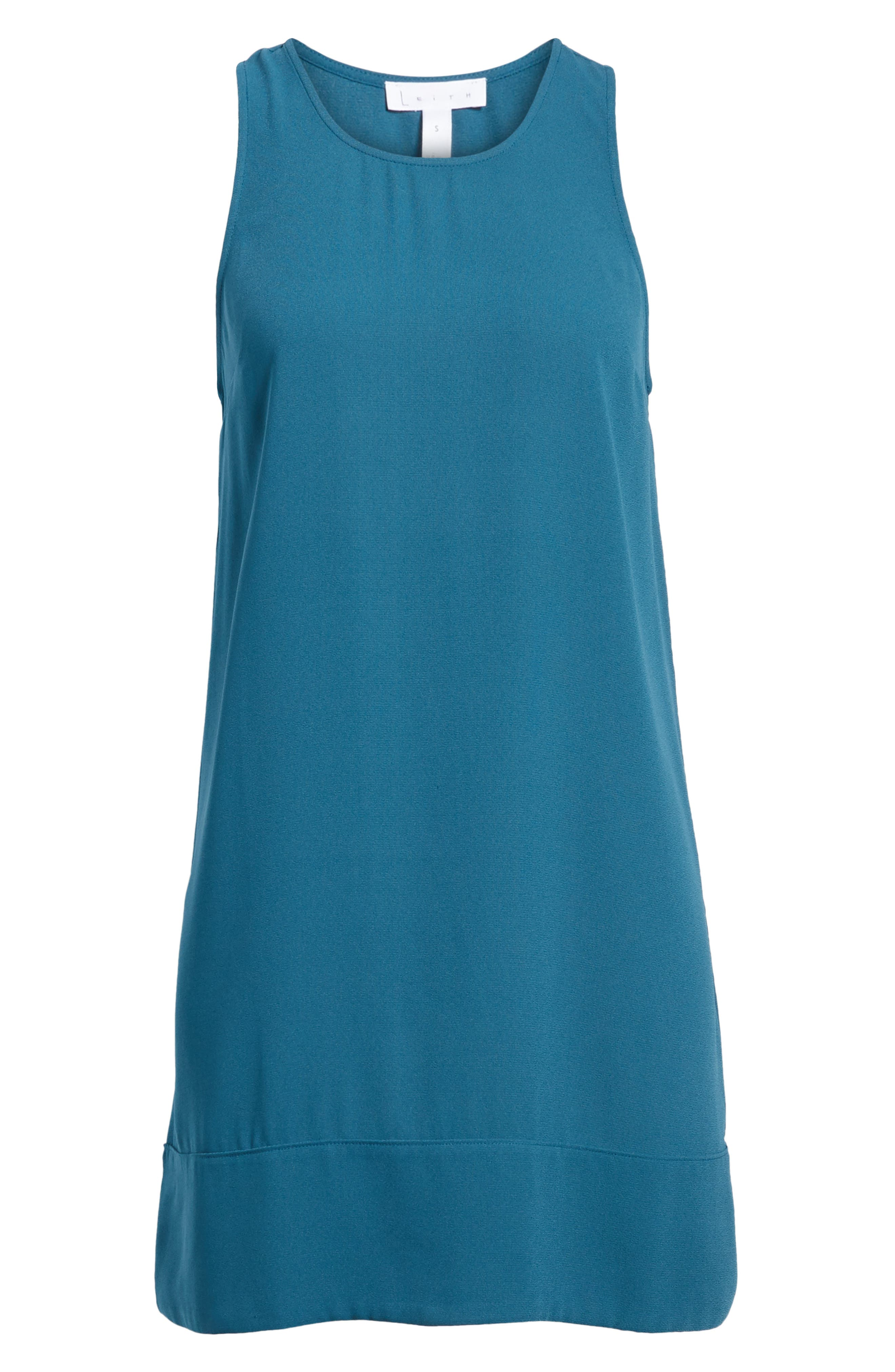 Racerback Shift Dress,                             Alternate thumbnail 192, color,