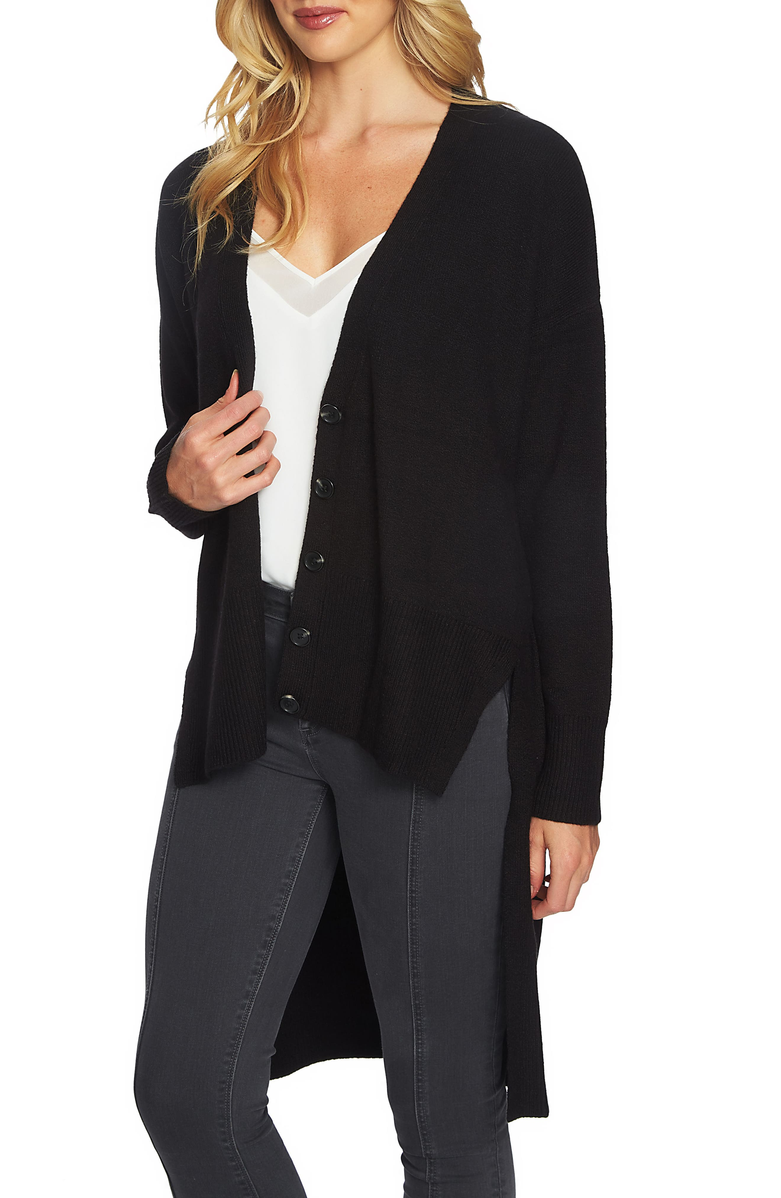 High/Low Cardigan,                         Main,                         color,