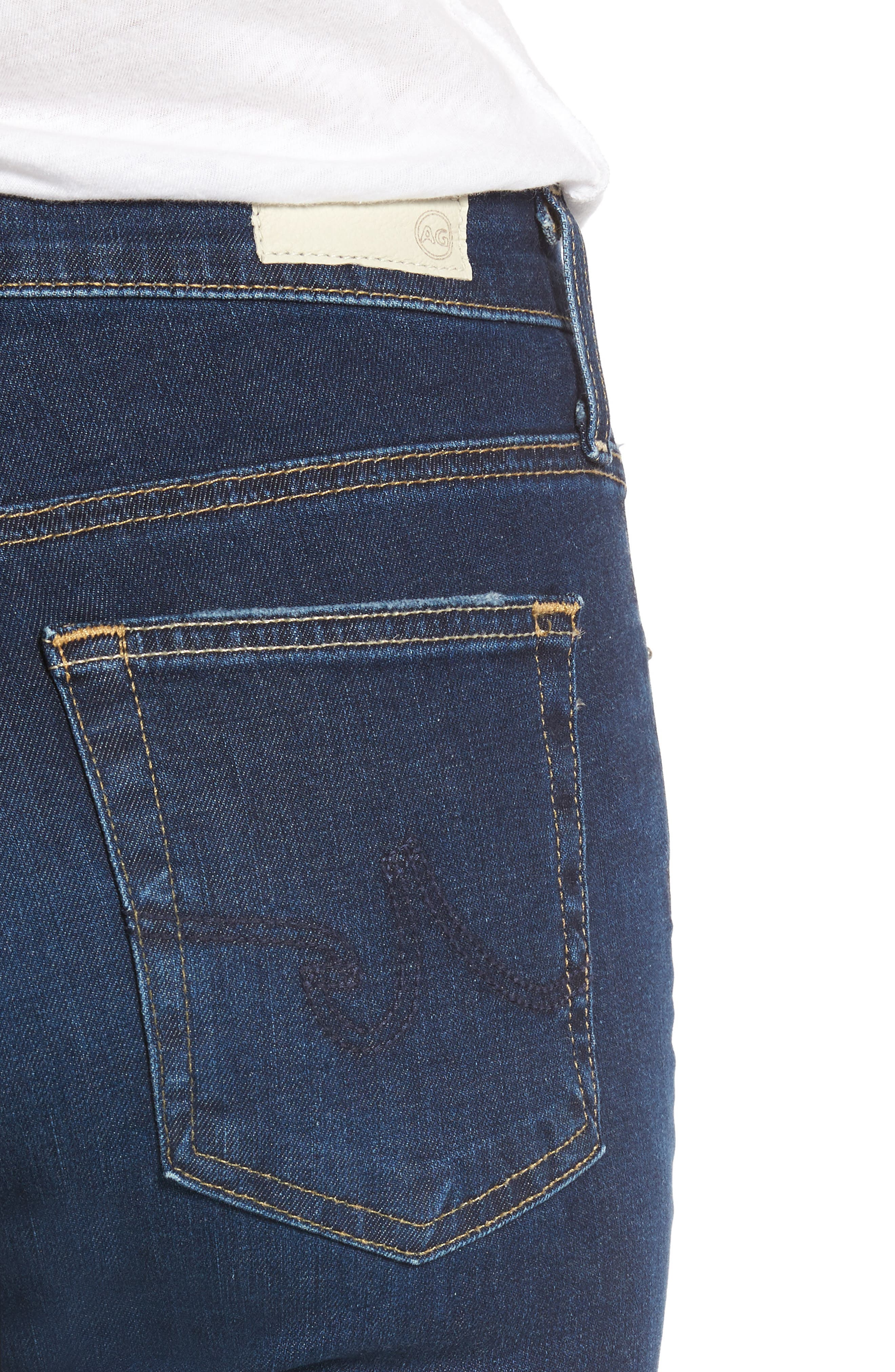 'The Farrah' High Rise Skinny Jeans,                             Alternate thumbnail 36, color,