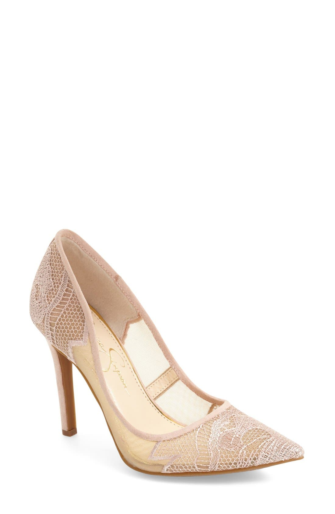 'Camba' Pointy Toe Pump,                             Main thumbnail 1, color,                             260