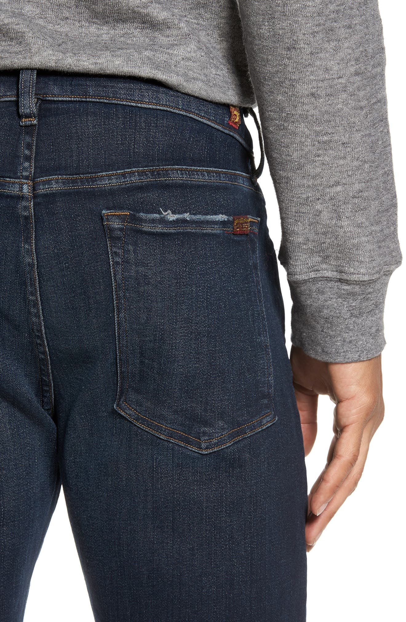 Adrien Slim Fit Jeans,                             Alternate thumbnail 4, color,