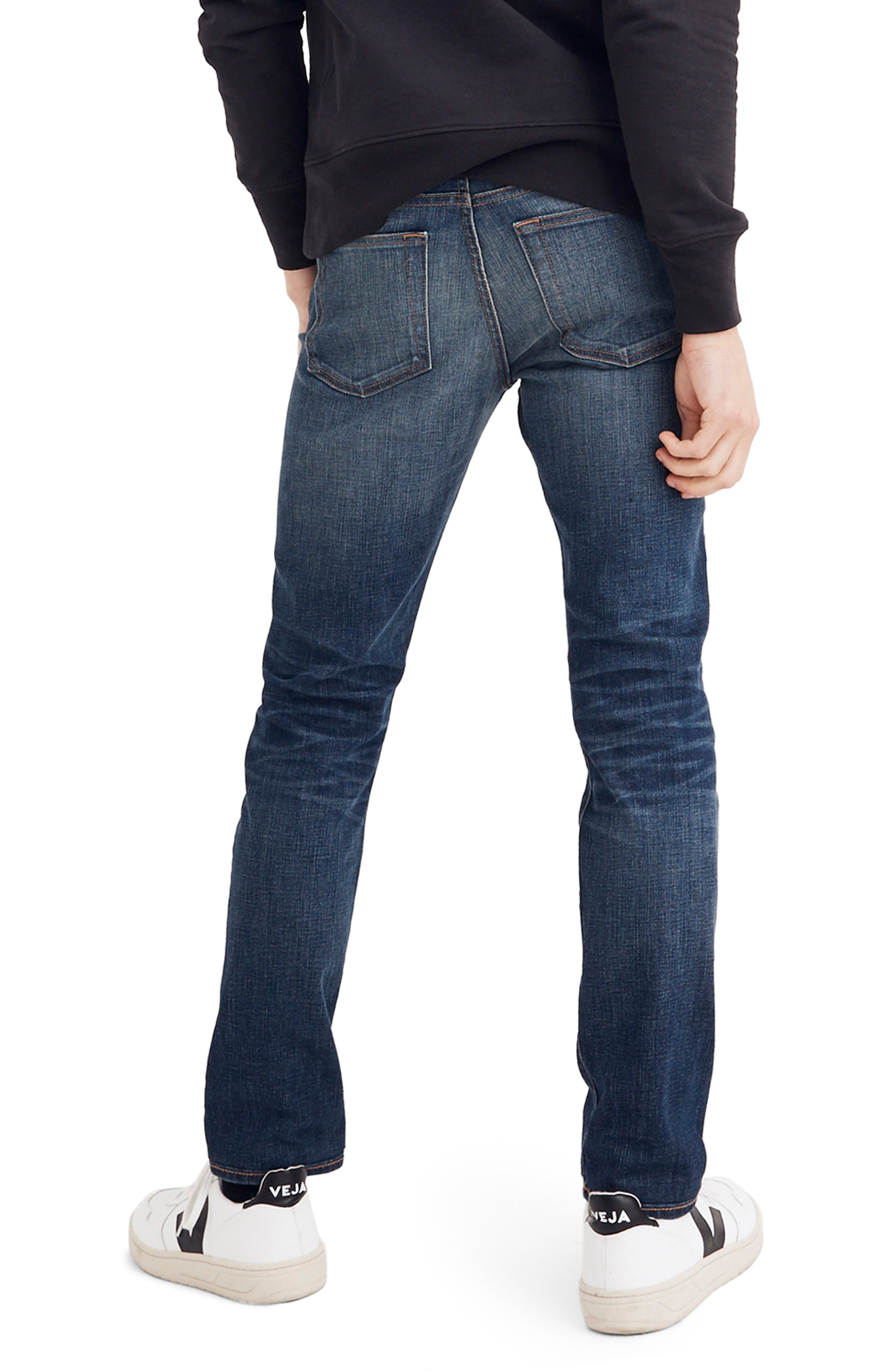 Slim Fit Jeans,                             Alternate thumbnail 2, color,                             DARK TINTED