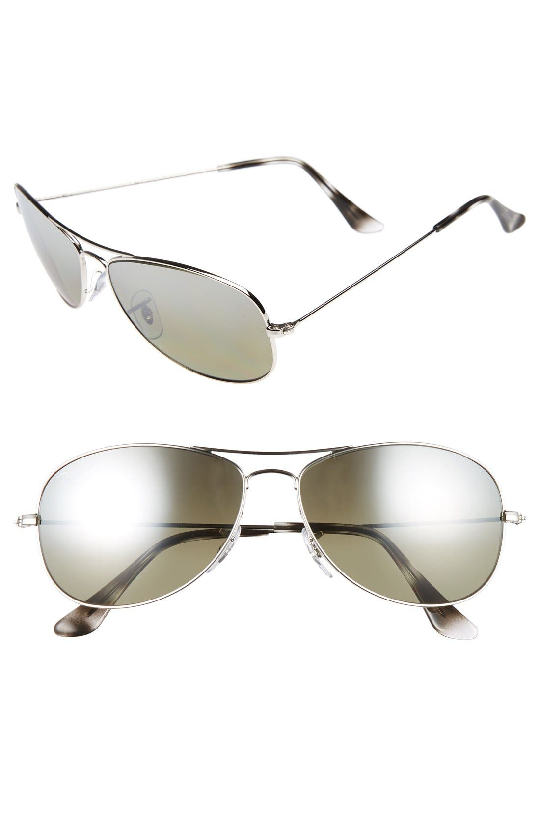 Tech 59mm Polarized Sunglasses,                         Main,                         color, 020