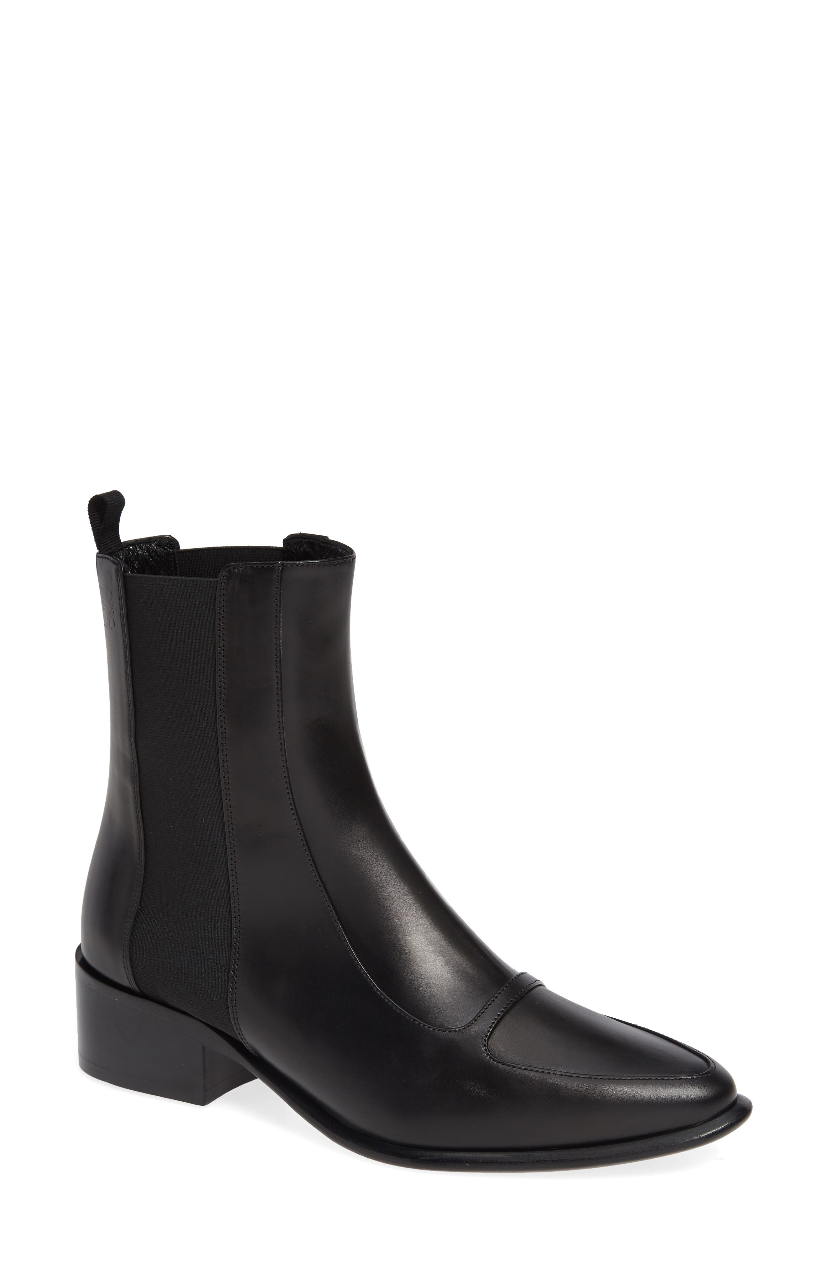 Chelsea Boot,                             Main thumbnail 1, color,                             BLACK
