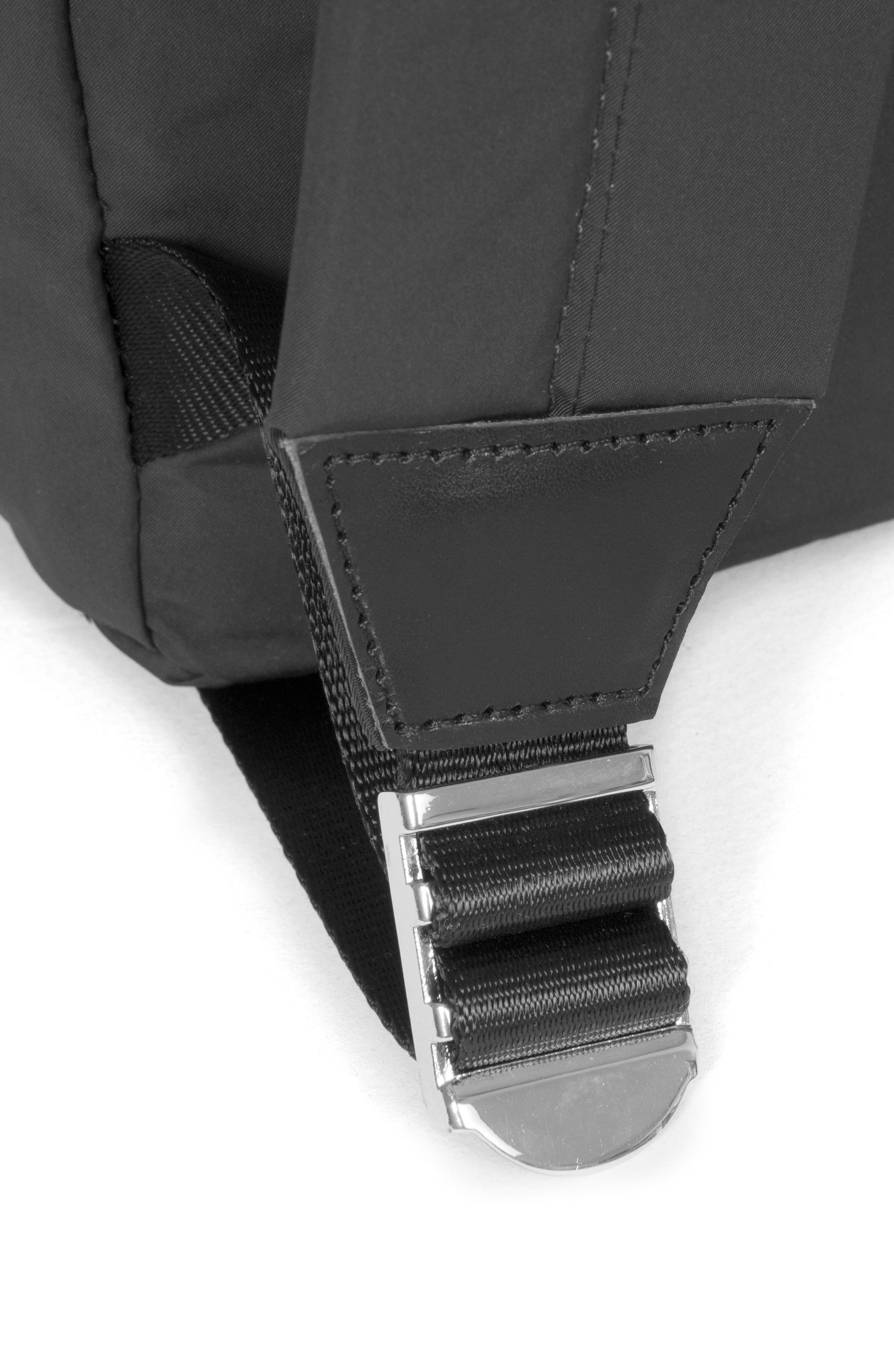 EASTPAK,                             Padded Doubl'r<sup>®</sup> Nylon Backpack,                             Alternate thumbnail 6, color,                             001